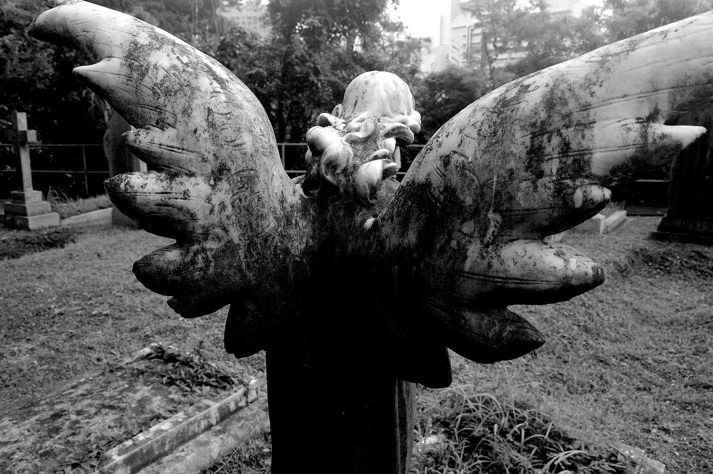 untitled #136  [hong kong protestant cemetery, happy valley, hong kong, 2006]