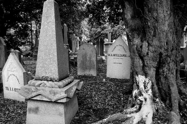 untitled #164  [hong kong protestant cemetery, happy valley, hong kong, 2006]