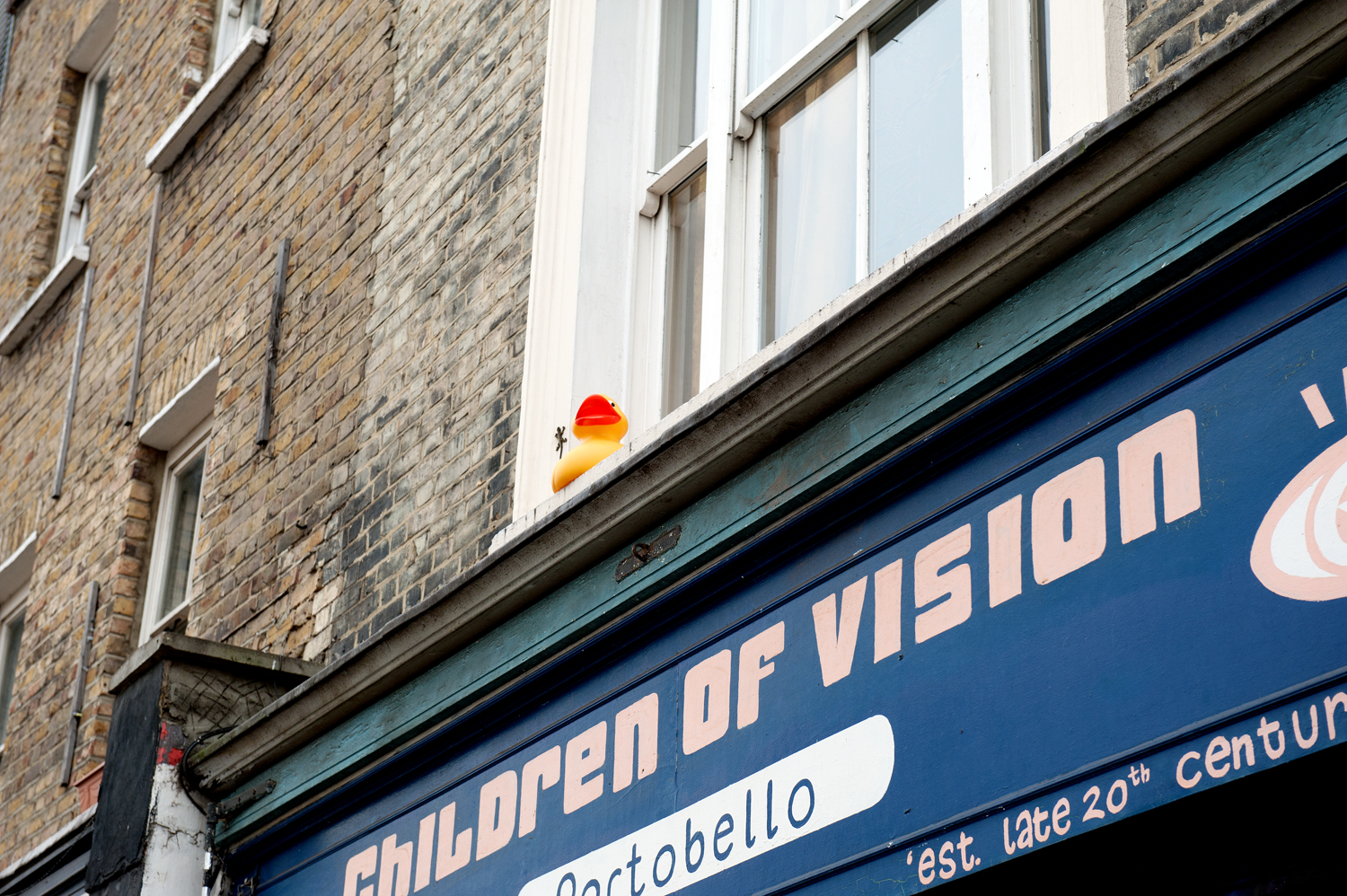 children of vision (or, rubber ducky, you're the one)  [portobello road, notting hill, london, england, 2011]