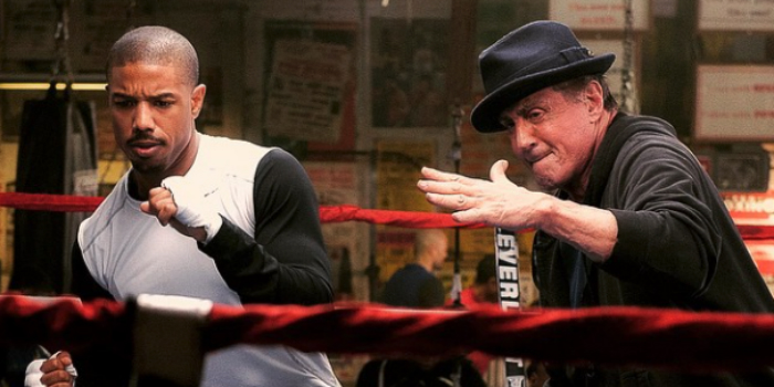 "Still from the movie ""Creed,"" reviewed in this month's CinemATL Podcast"