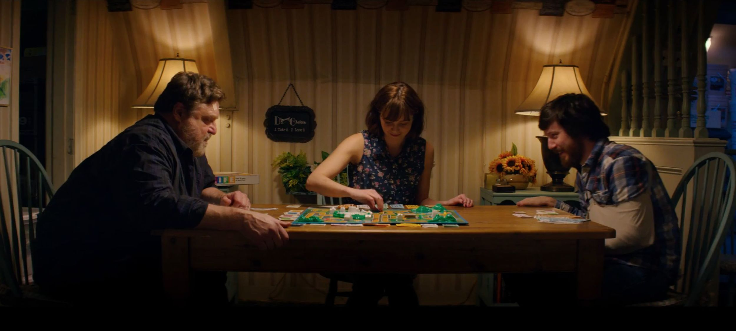 A scene from 10 CLOVERFIELD LANE.