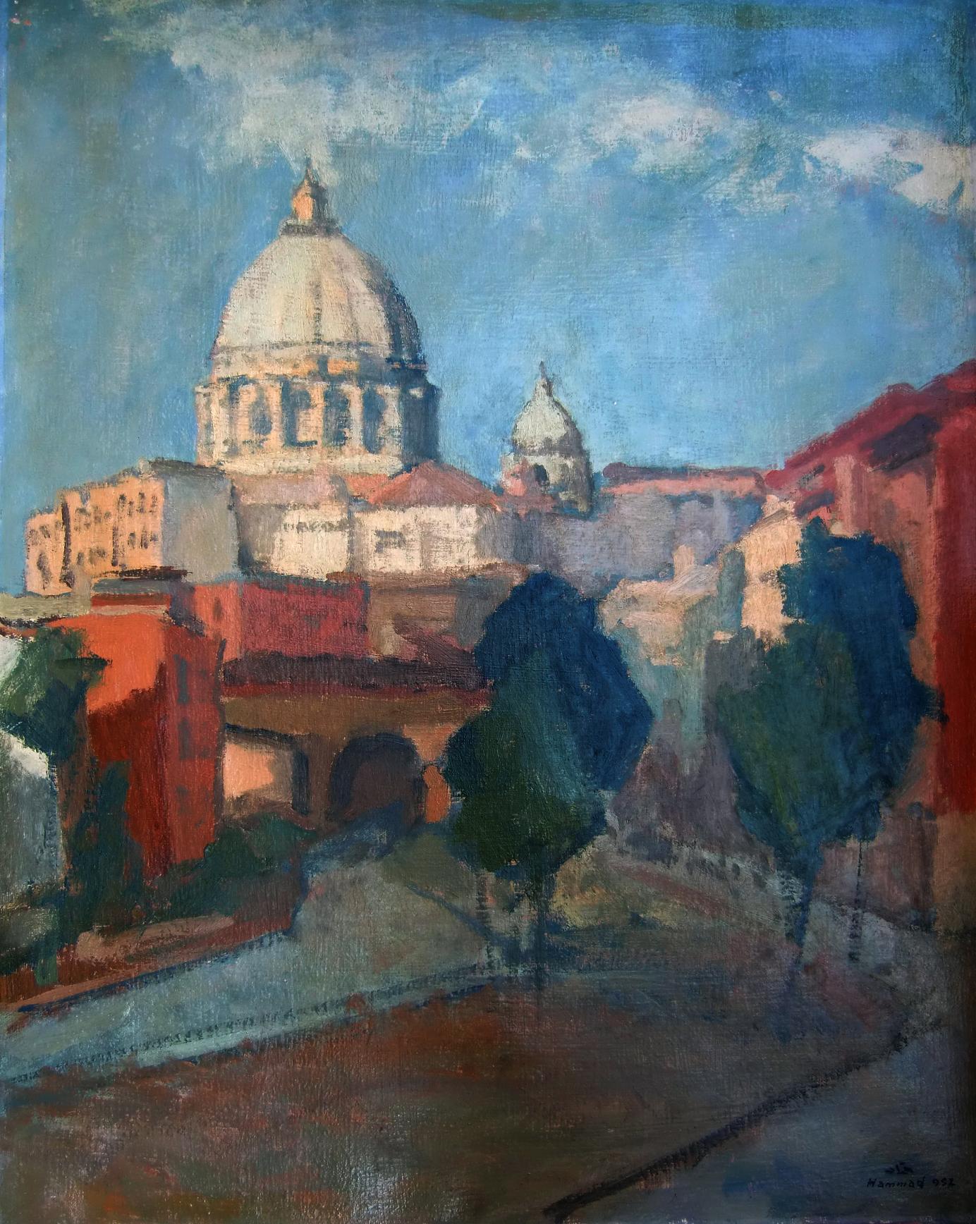 Scene In Rome . 1957 . روما