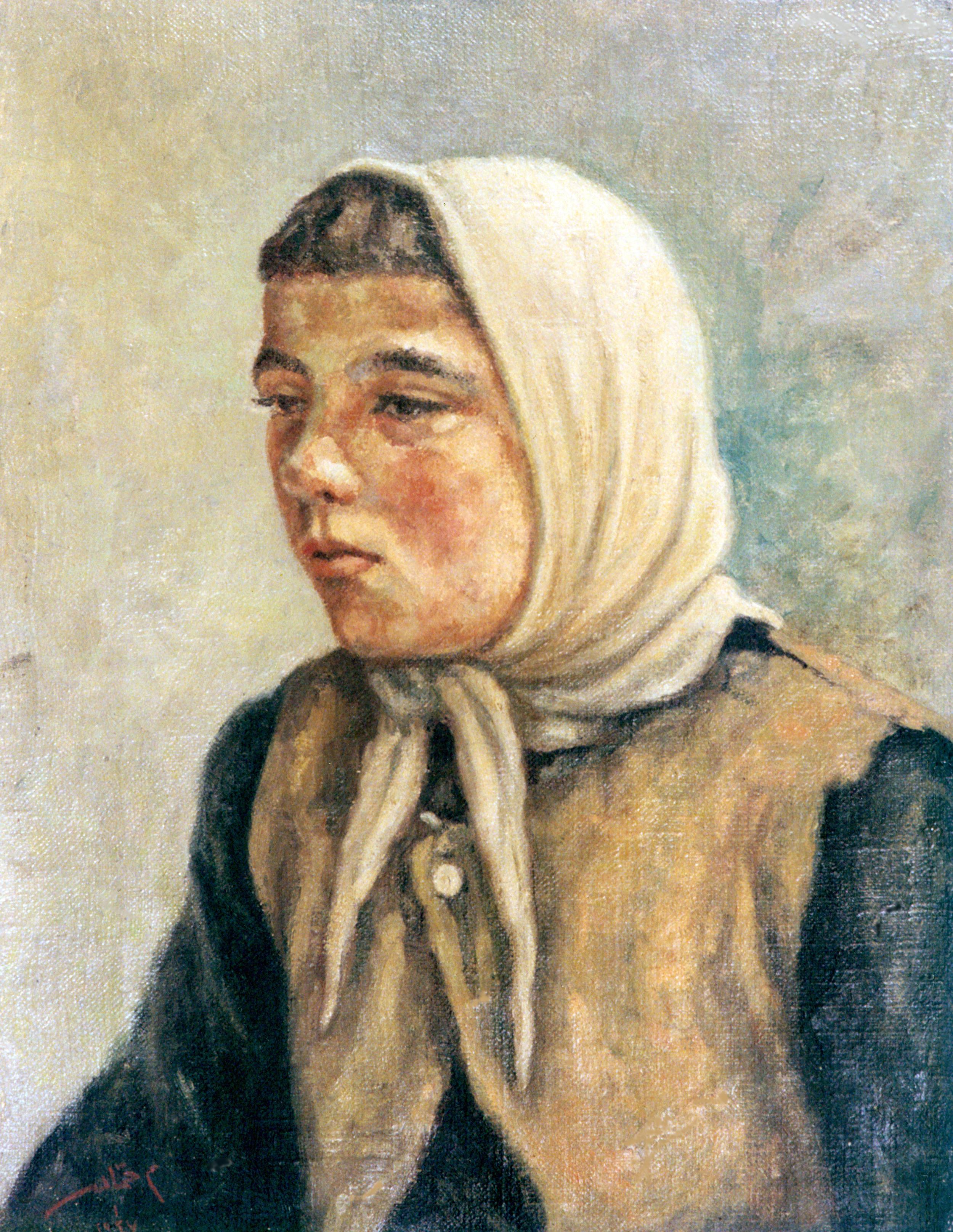 Portrait. Fakhryyeh . 1947 . بورتريه . فخرية