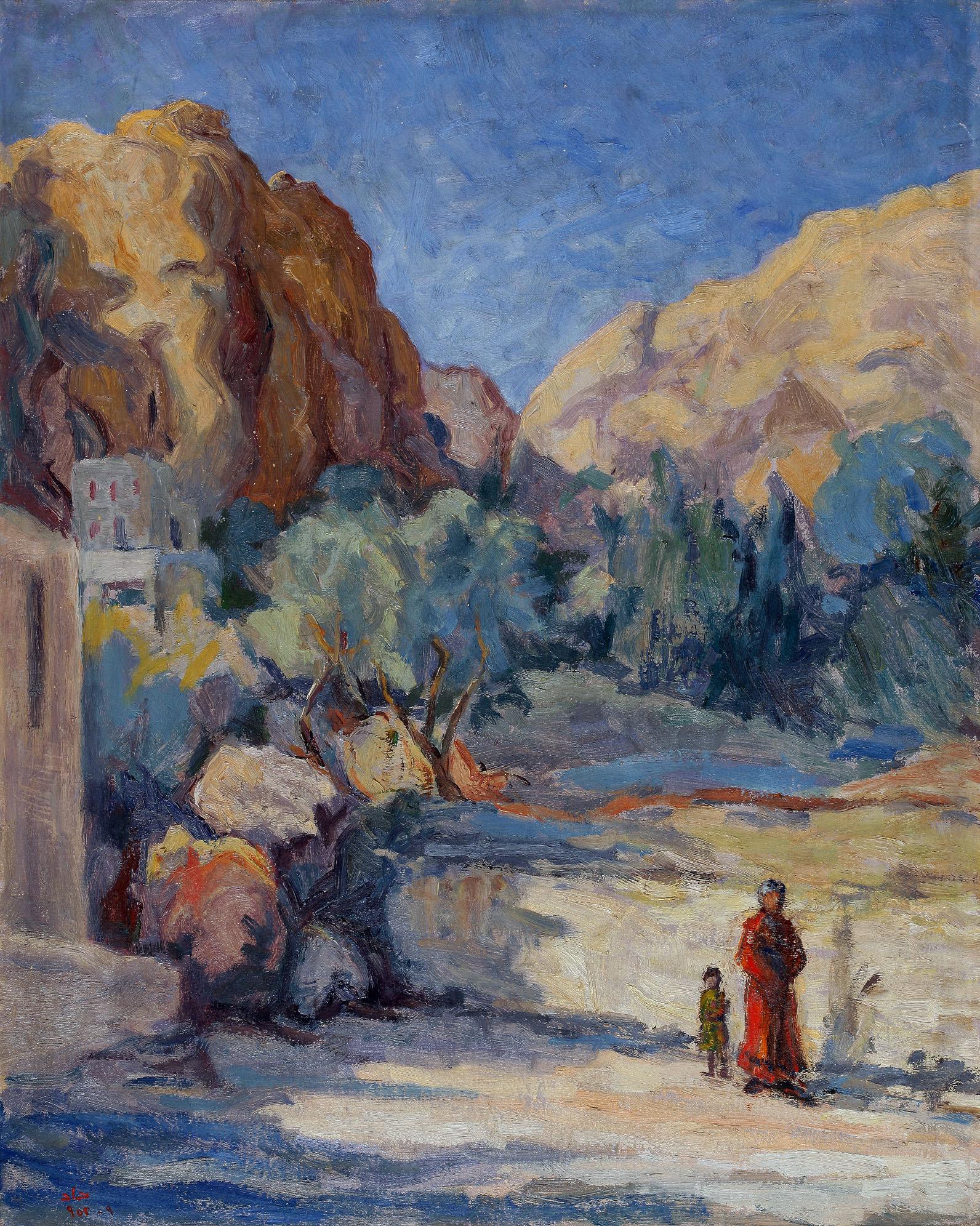 The Village Suburbs . 9 - 1952 . ضواحي القرية