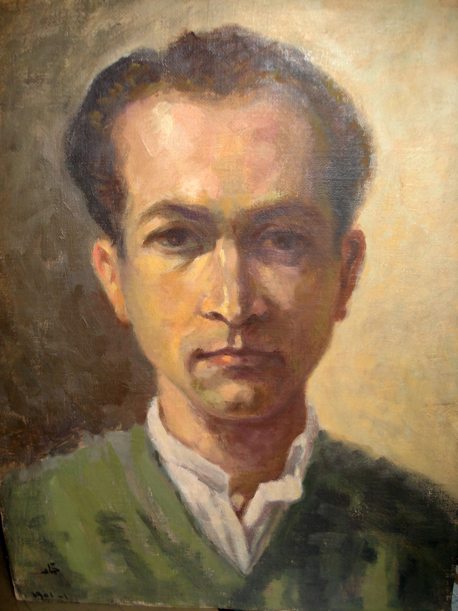 Autoportrait . 1951 . بورتريه شخصي