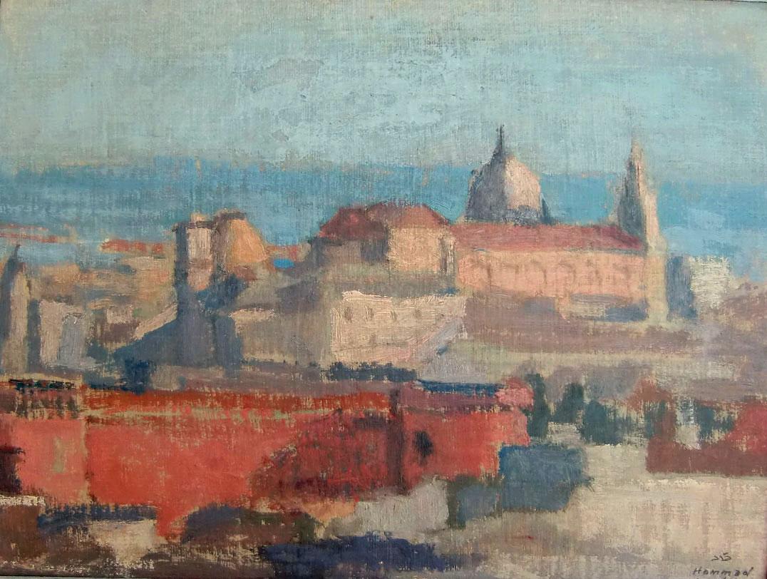 Scene In Napoli . 1957 . منظر في نابولي
