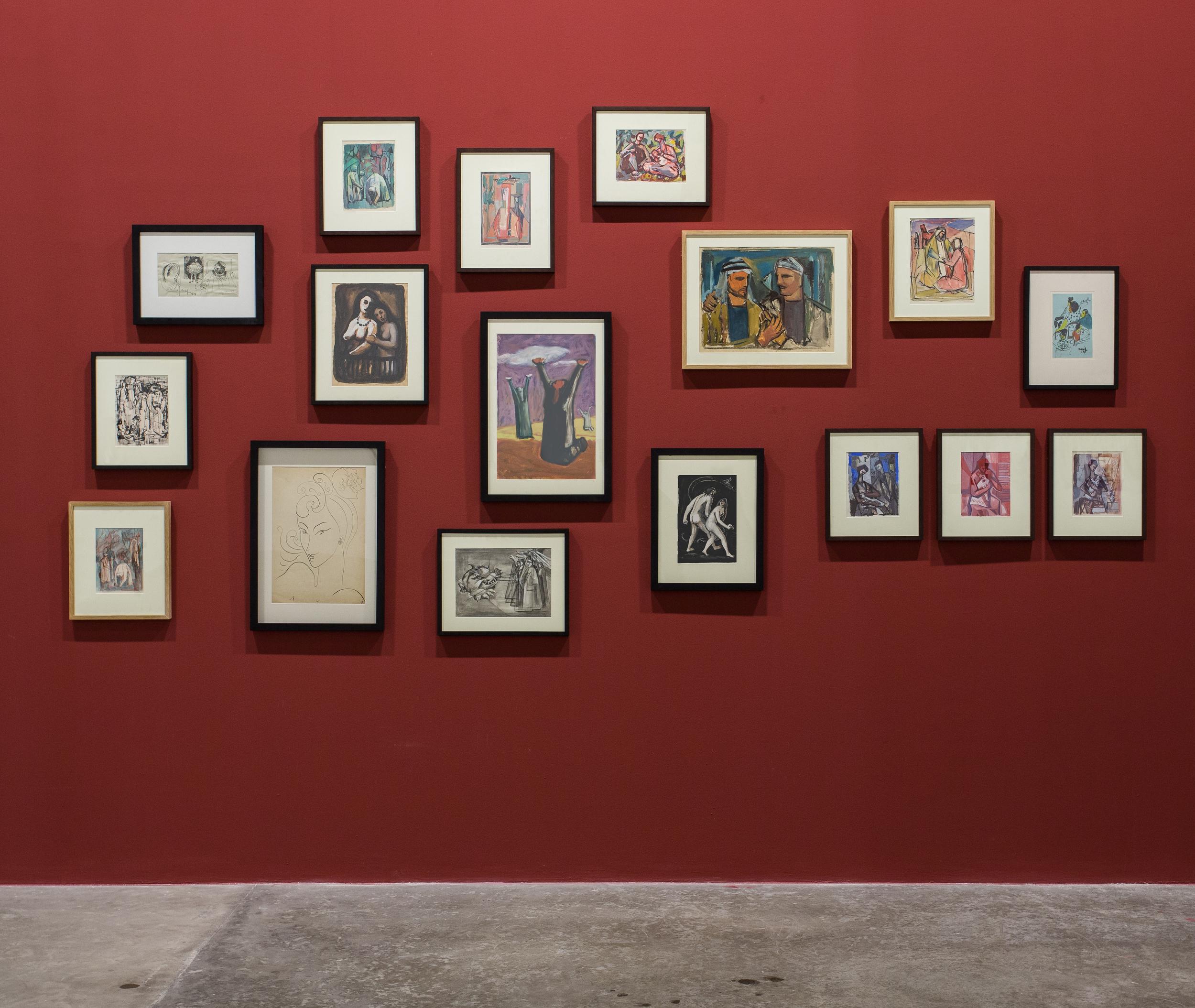 Mahmoud Hammad at Art Green Gallery, Dubai. HIKAYAT, 15 September- 26 October 2014