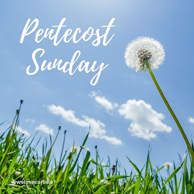 It's Pentecost Sunday! Or International Freedom and Empowerment Day as we know it! Come, gather and spur one another on as we celebrate Pentecost together! 10:30am 10th June at Carlisle Vineyard, Denton Holme, Carlisle #welovecarlisle #carlislevineyard #pentecost