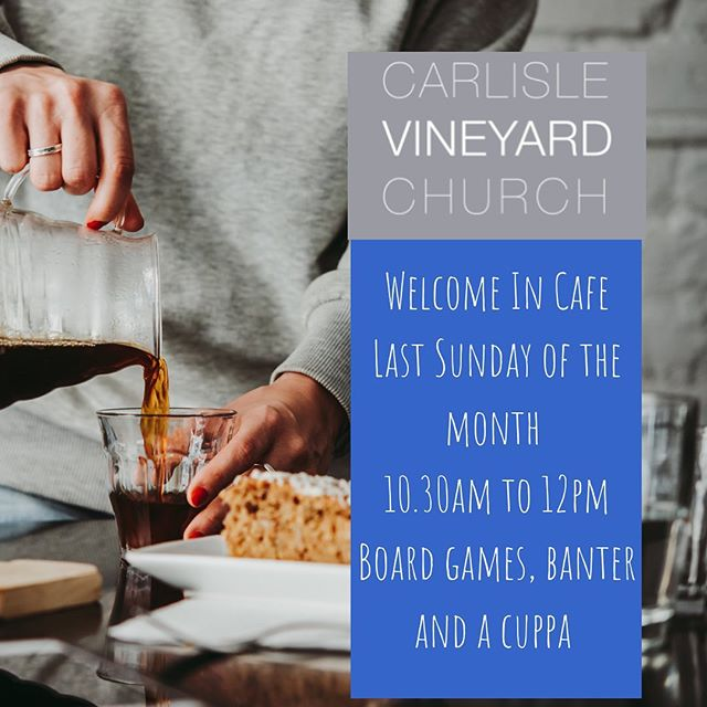 What a wonderful sunny long weekend for gathering with friends and neighbours, old & new. Whether you're scattered this Sunday or joining us at our Welcome In Café - have a lovely time ☀️ 😎 #welovecarlisle #carlislevineyard #bankholidayplans #carlisle