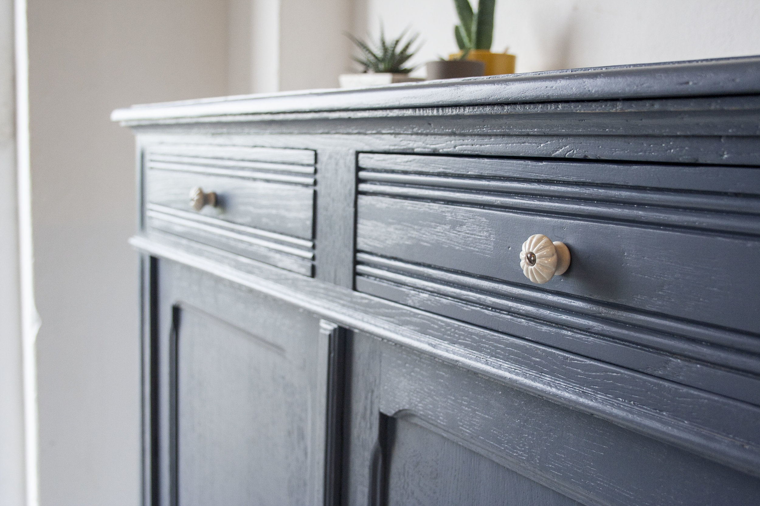 Denim blauwe vintage commode_2.jpg
