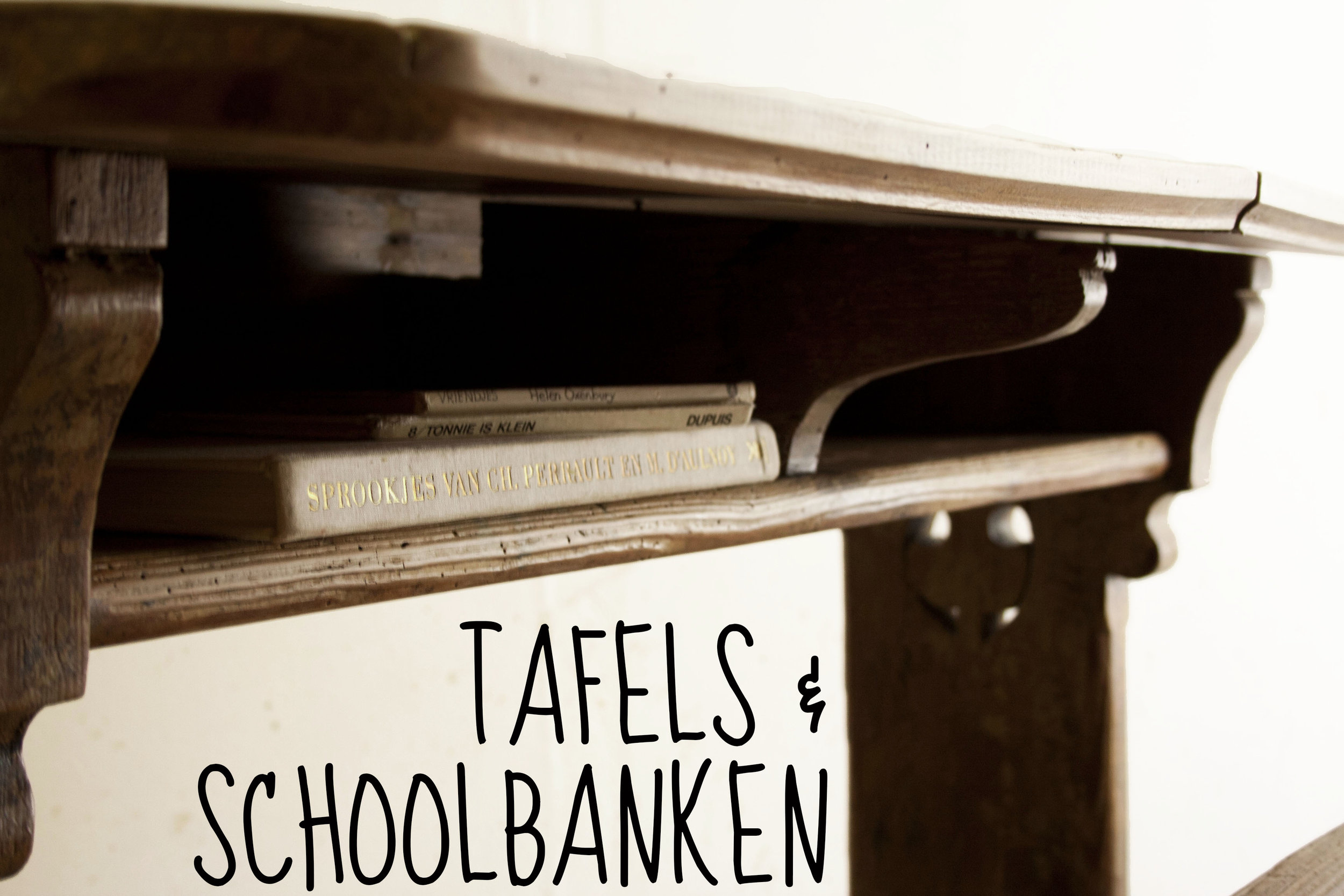 TAFELS EN SCHOOLBANKEN - Firma Zoethout