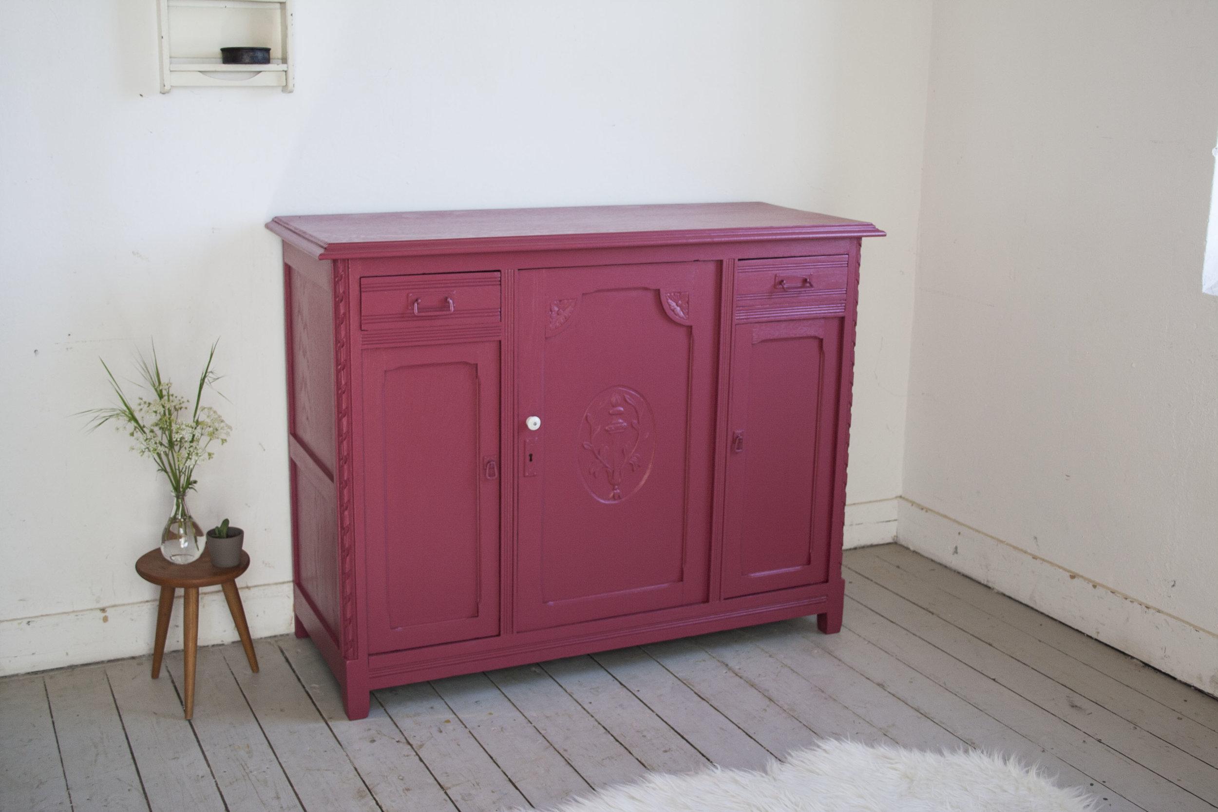 Radijs roze commode - Firma Zoethout_1.jpg