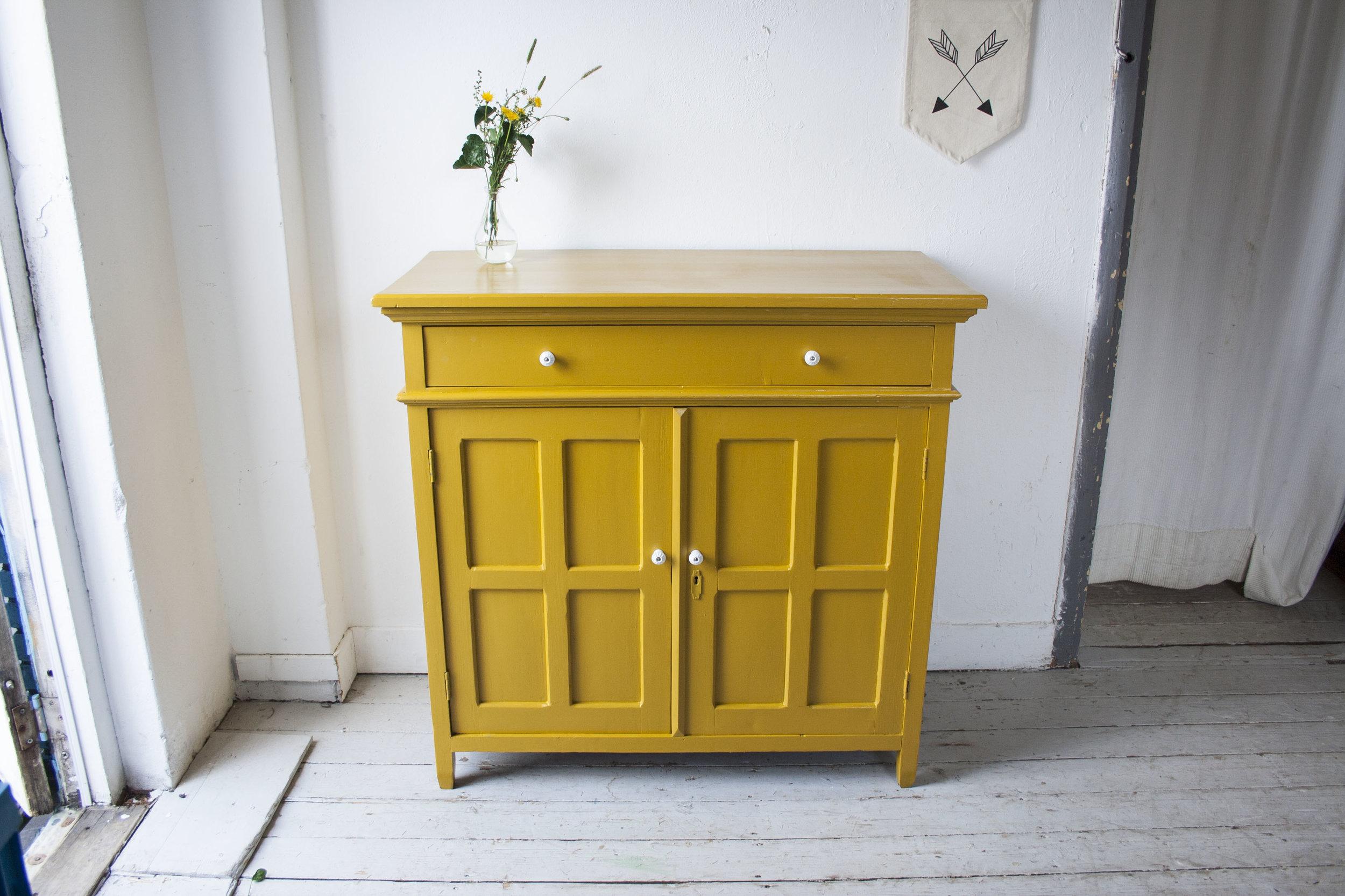 Gele vintage commode - Firma Zoethout_4.jpg
