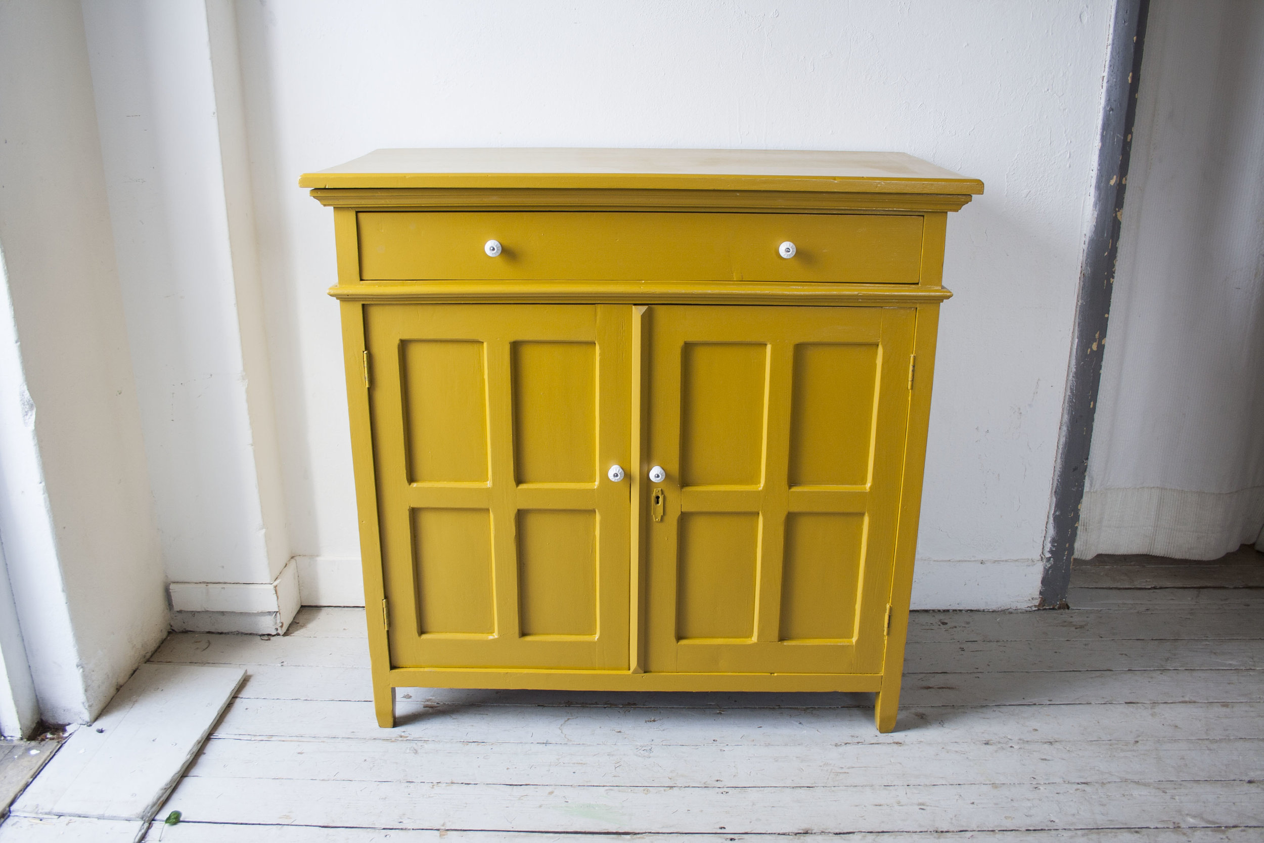 Gele vintage commode - Firma Zoethout_5.jpg