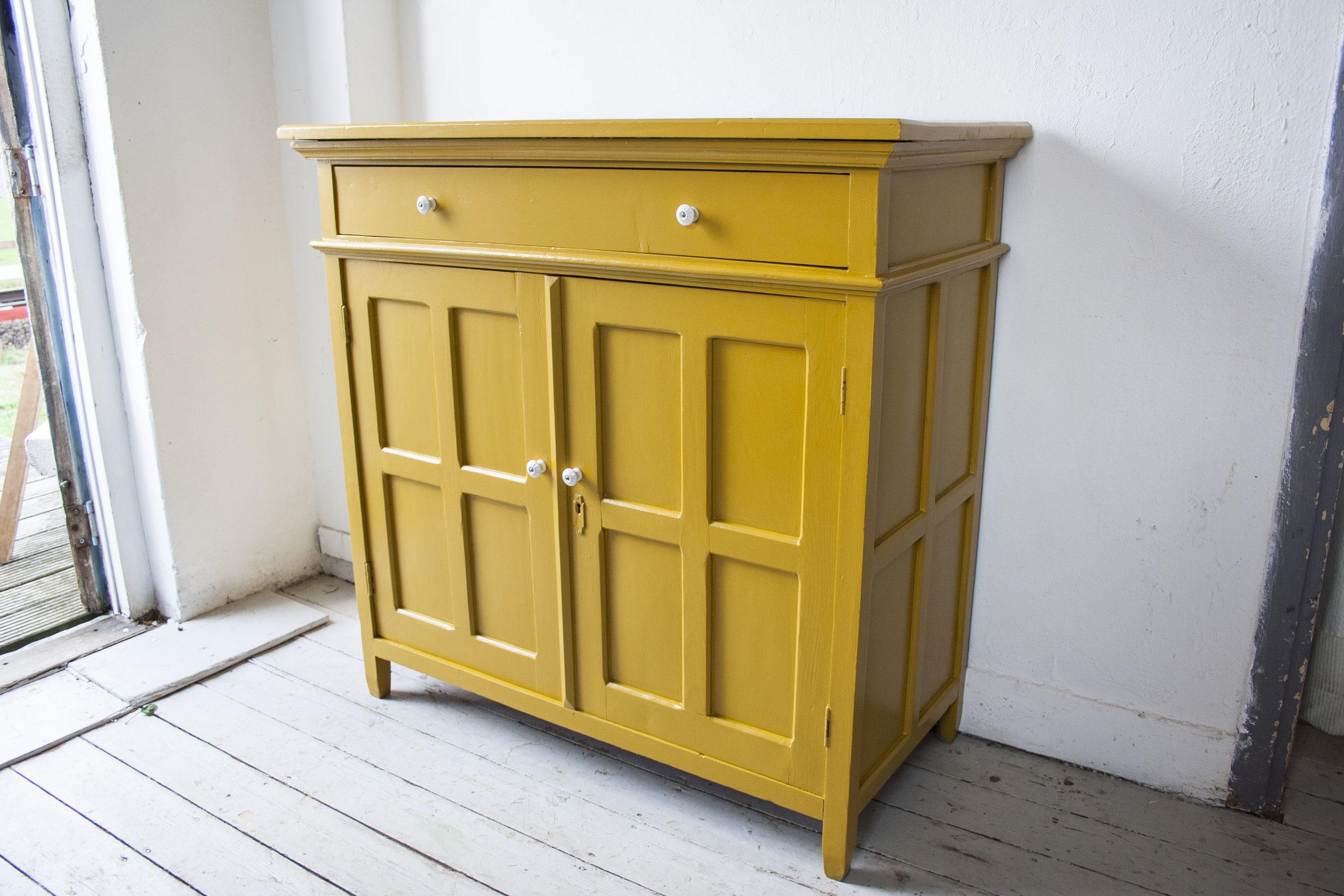 Gele vintage commode - Firma Zoethout_6.jpg
