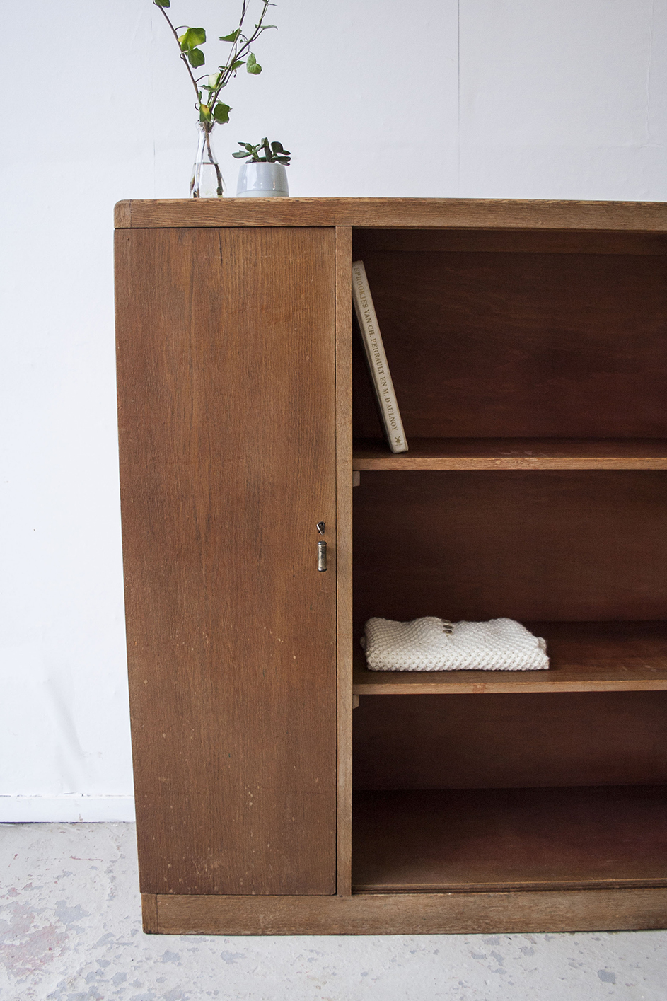 Vintage open kast van hout - Firmazoethout_4.jpg