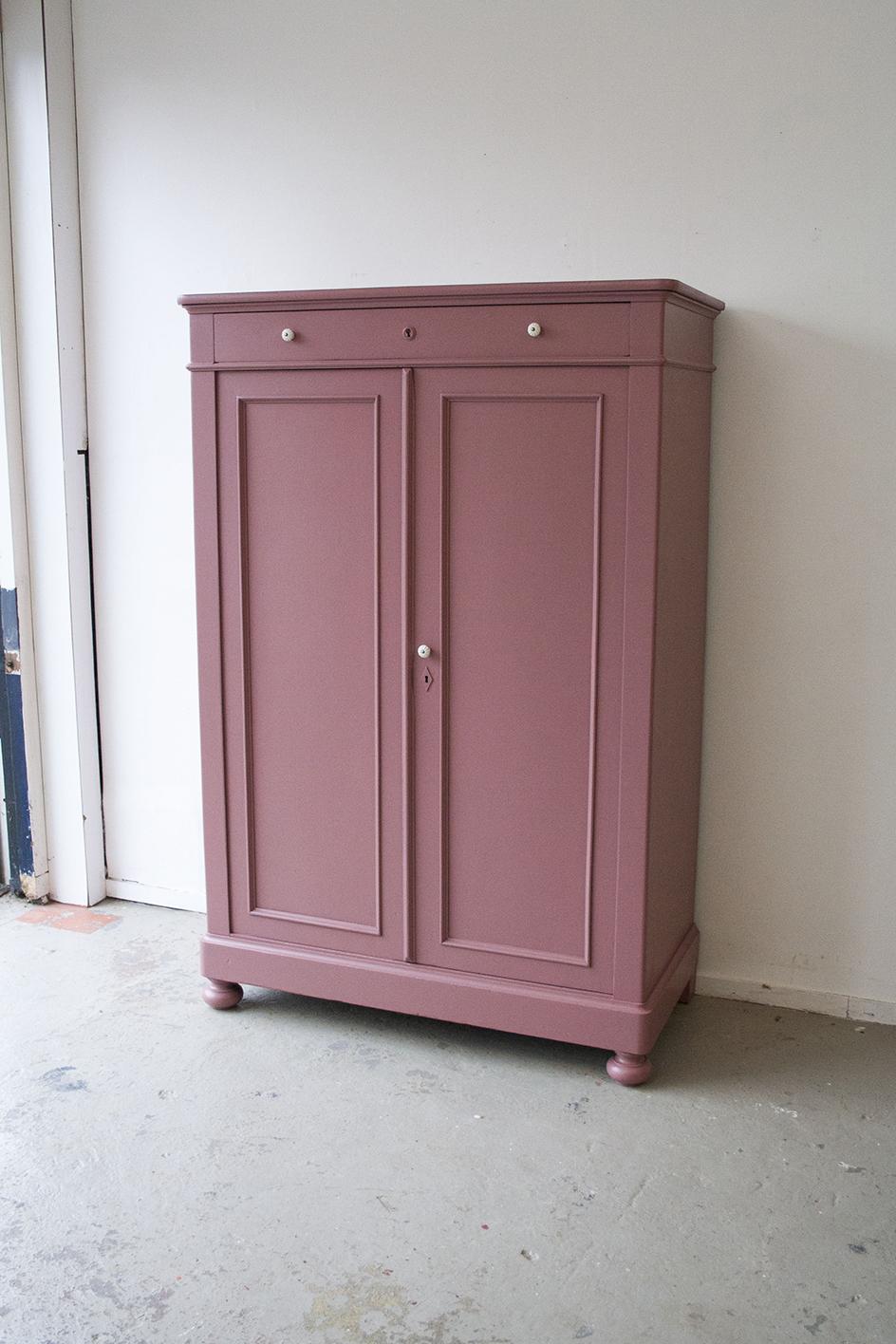 Vintage roze meidenkast - Firmazoethout_6.jpg