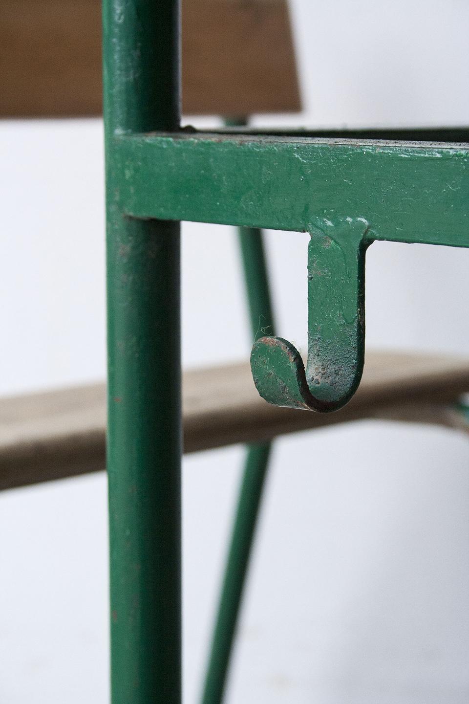 1p schoolbankje donkergroen frame - Firmazoethout_3.jpg