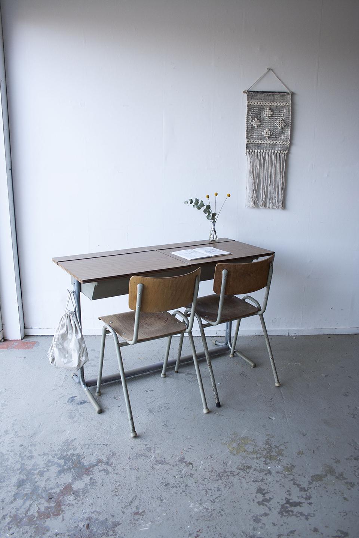 Schoolbank nep houten blad - Firmazoethout.jpg