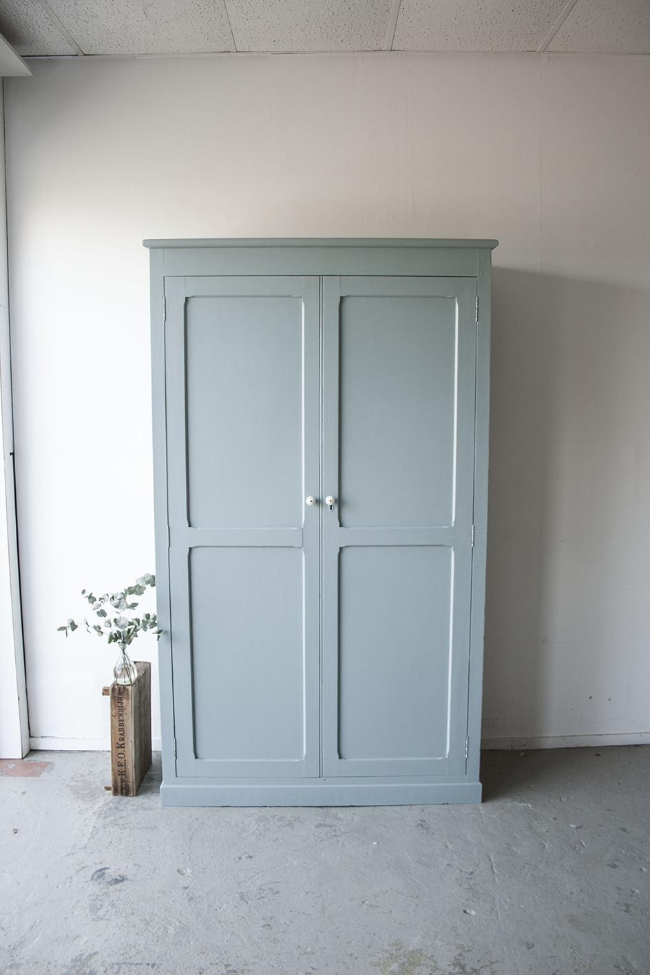 grijsblauwe grote kledingkast !- Firma zoethout_7.jpg