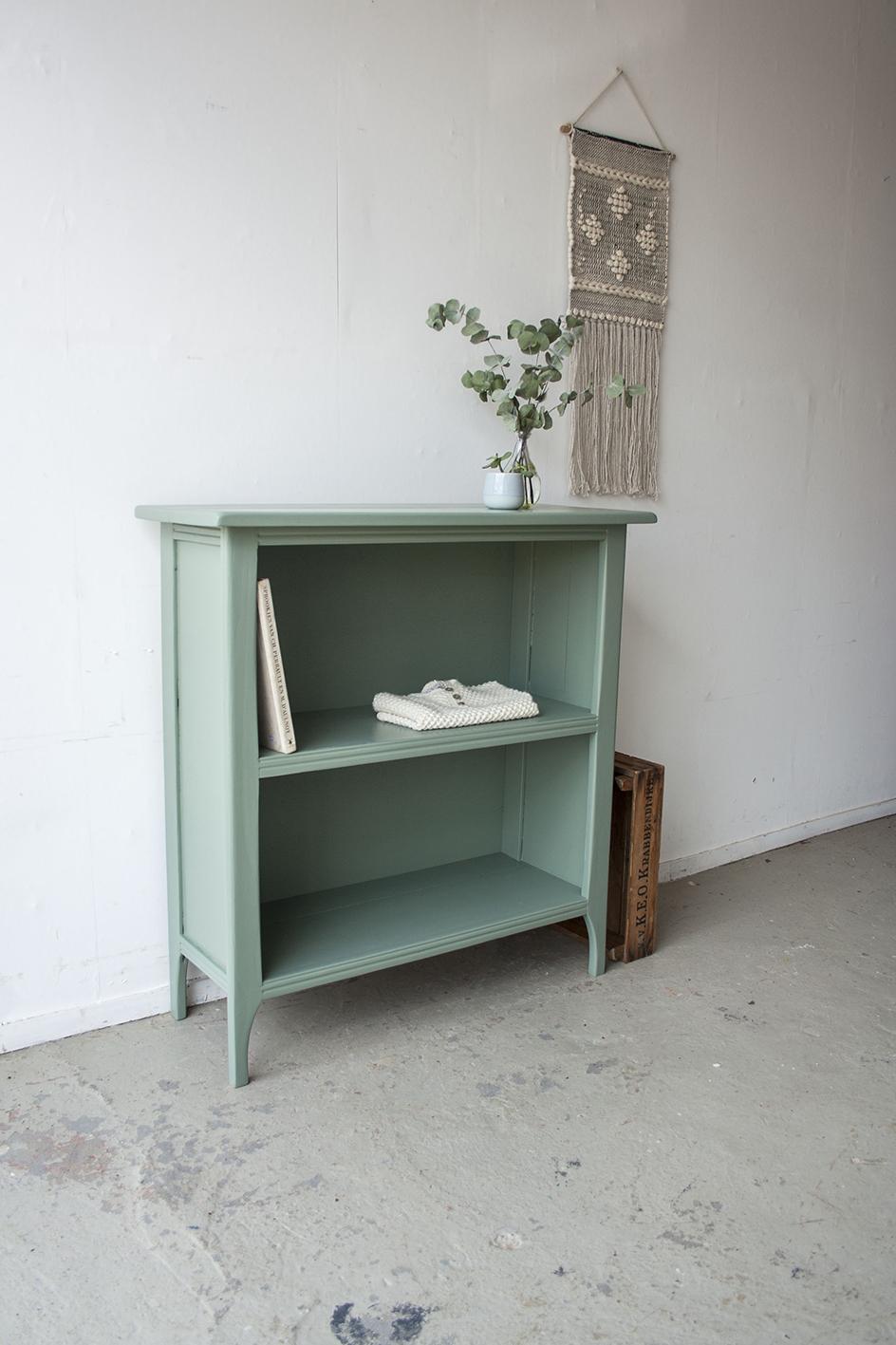 Dennegroen boekenkastje - Firma zoethout_2.jpg