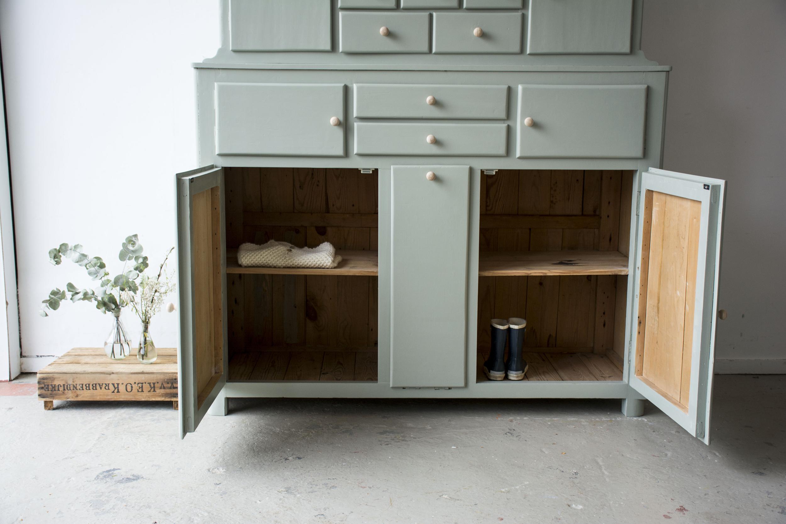 _Grijsgroene driedelige keukenkast - Firma zoethout_5.jpg