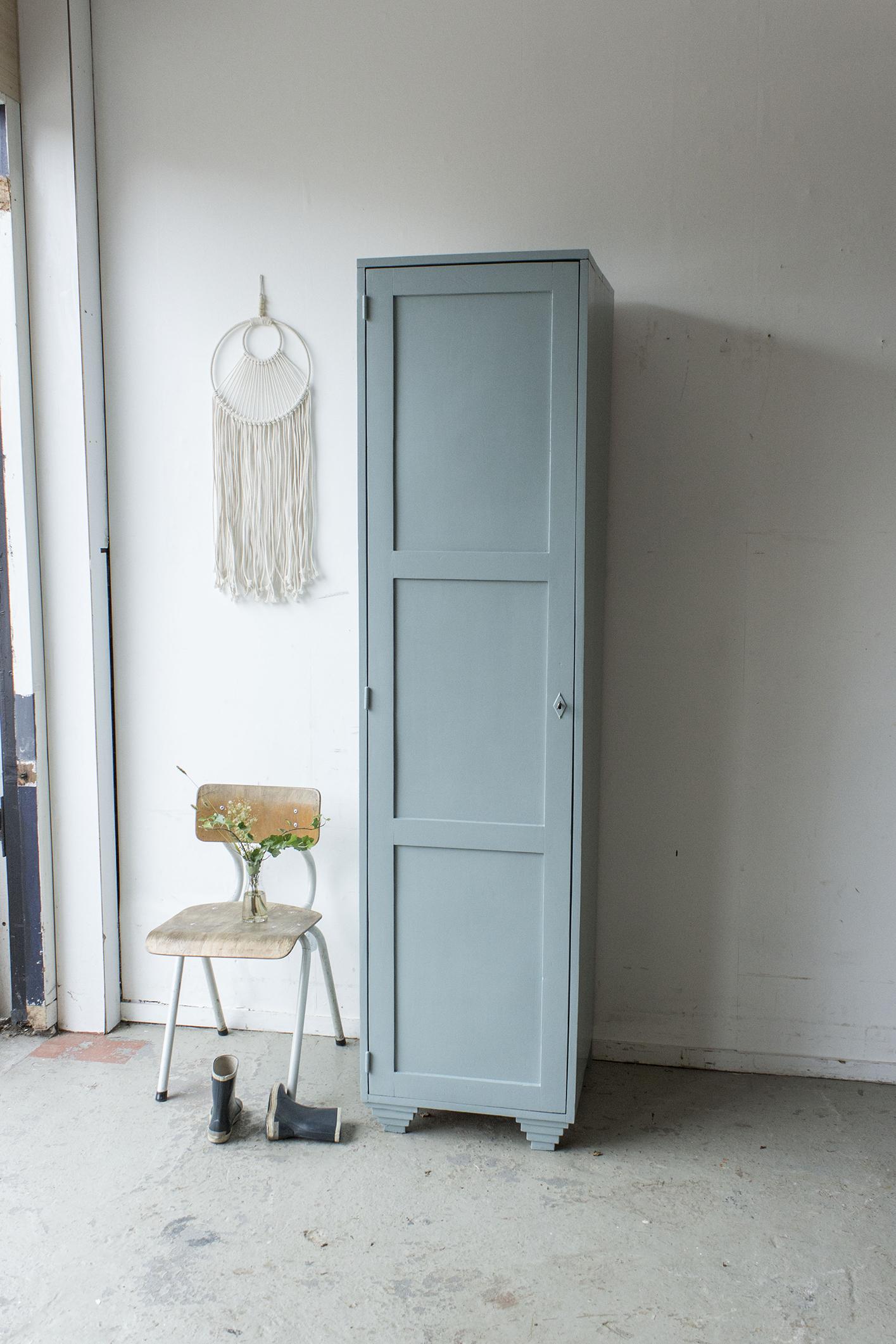 Grijsblauwe vintage houten locker-  Firma zoethout_7.jpg