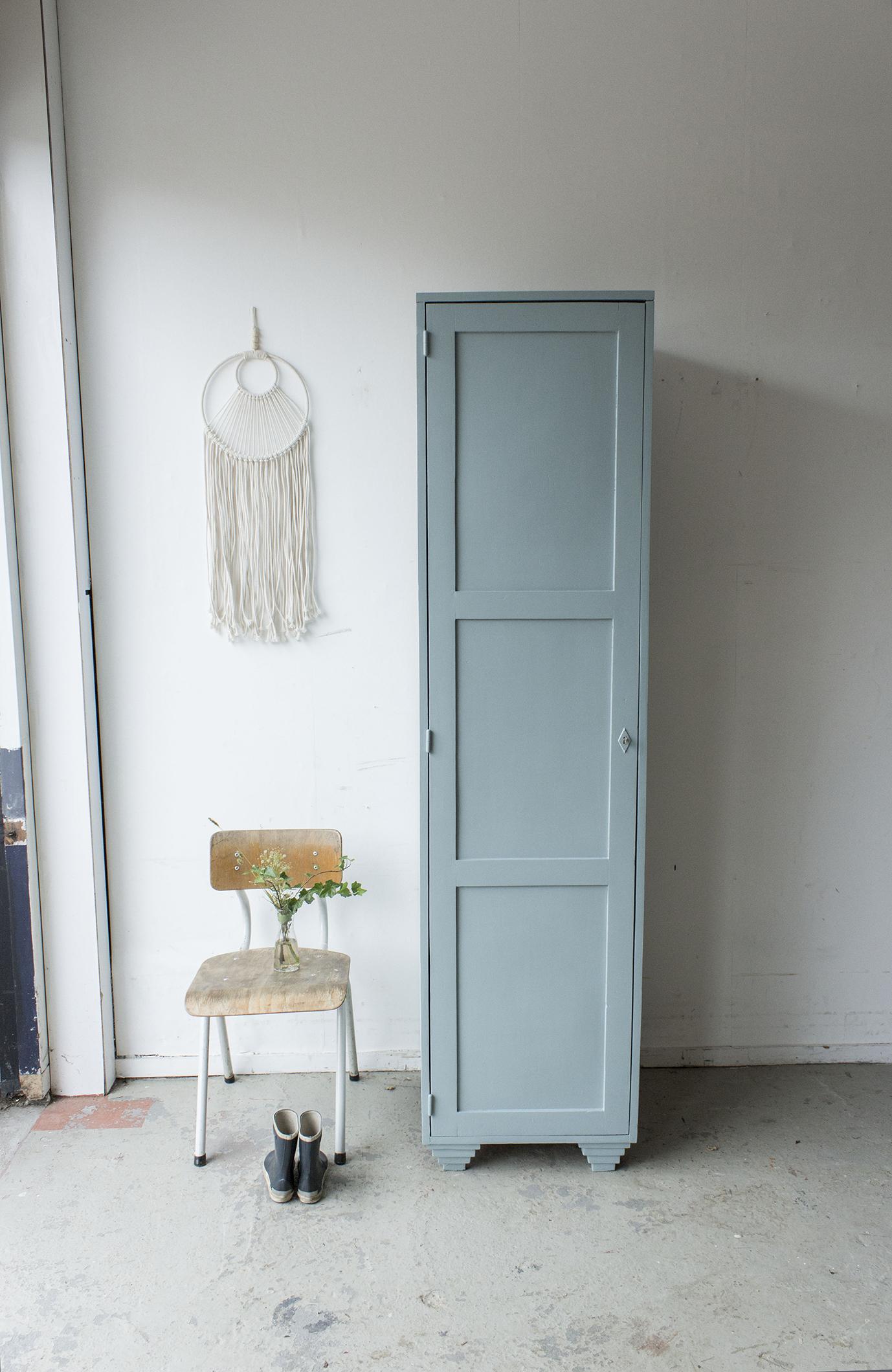 Grijsblauwe vintage houten locker-  Firma zoethout_10.jpg