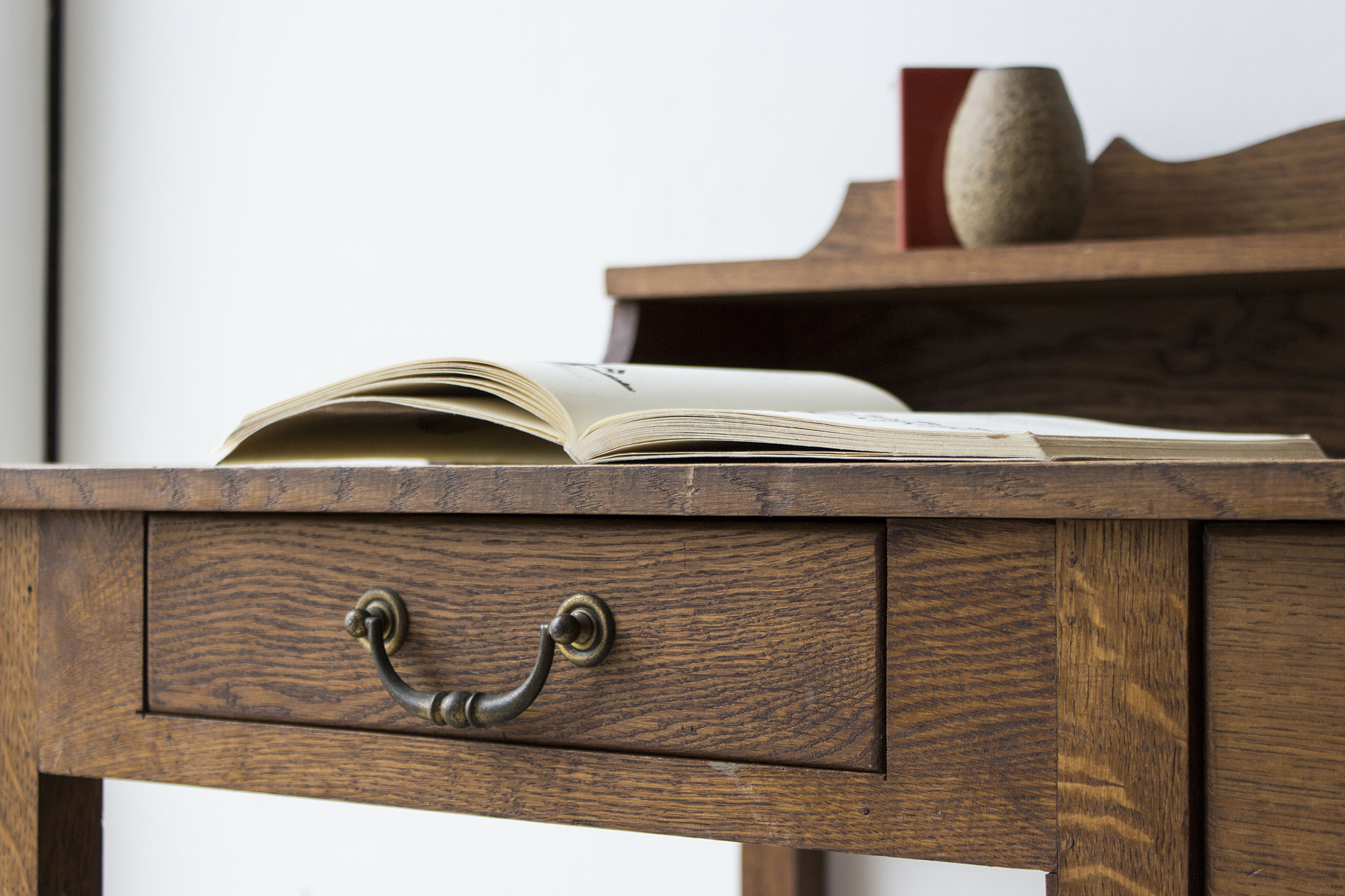 3159 - eikenhouten vintage bureau - Firma zoethout_2.jpg