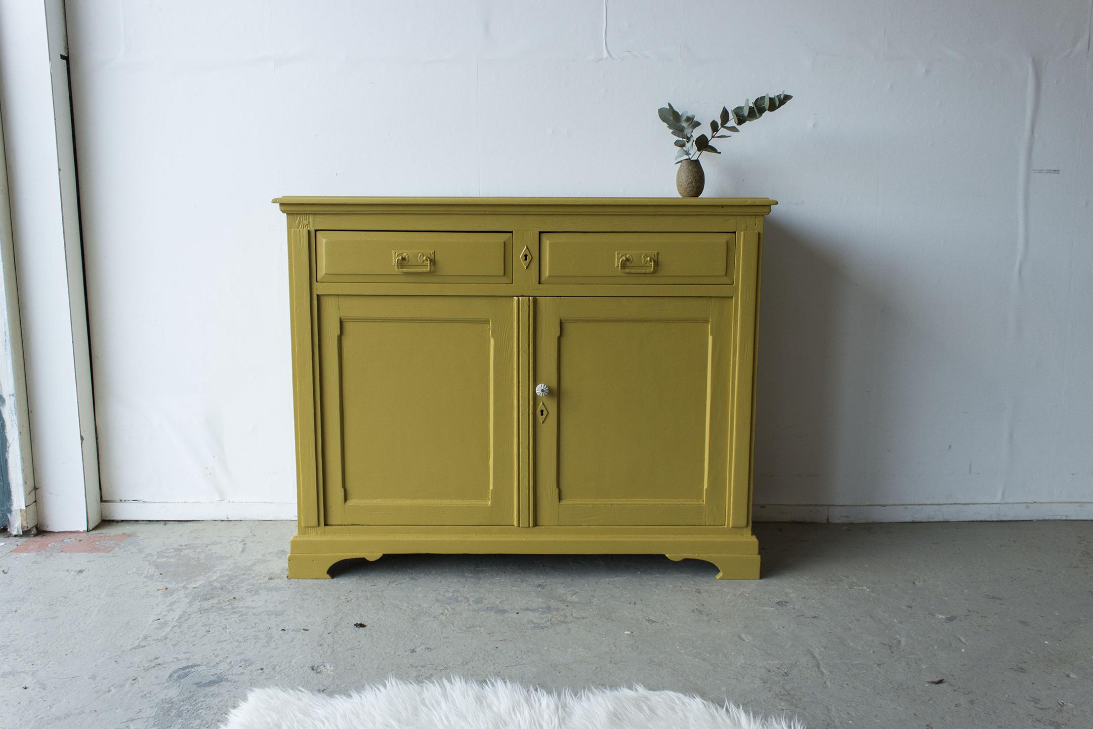 2163 - Okergeel vintage kastje - Firma zoethout_3.jpg