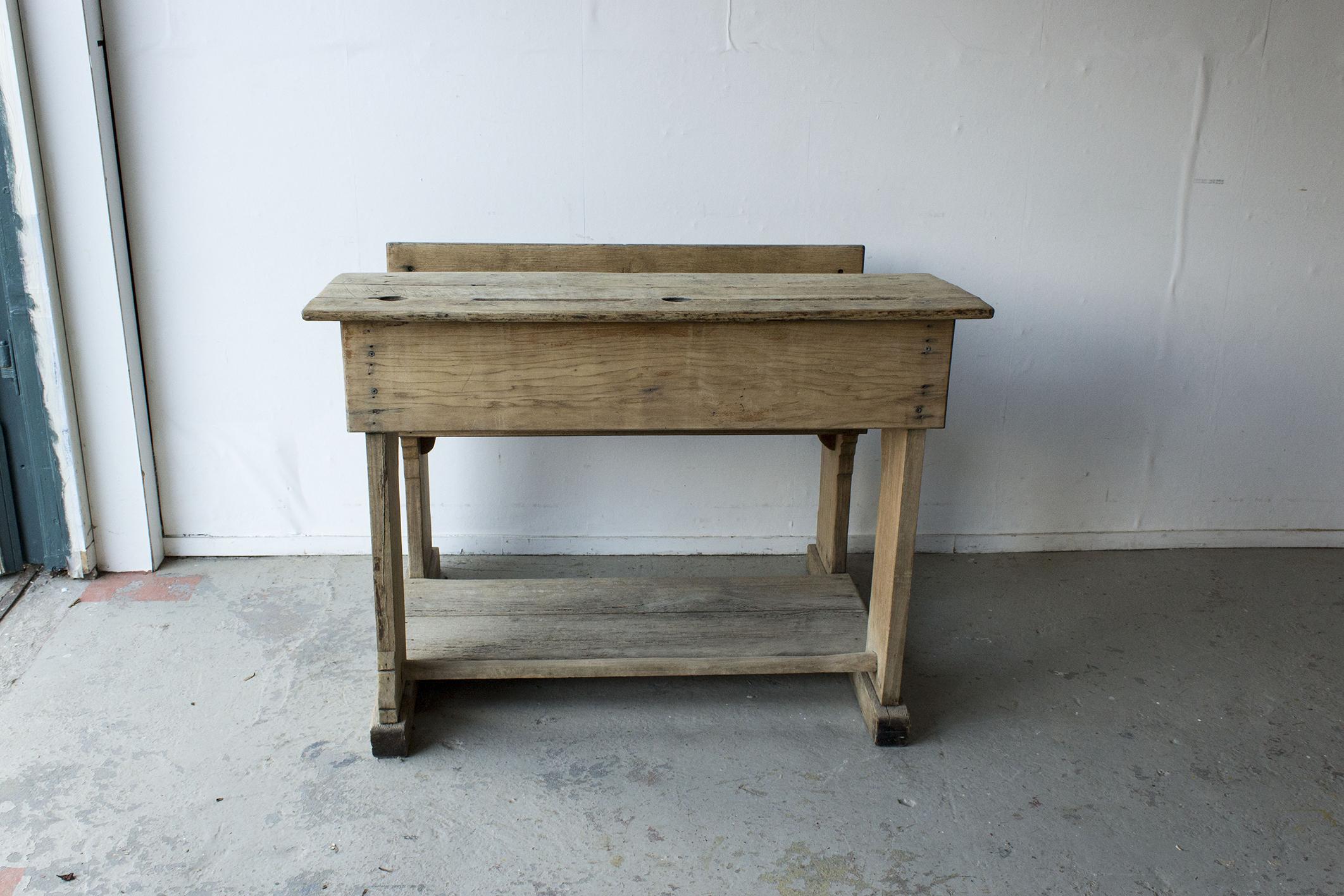 3178 - Houten vintage schoolbank tje - Firma Zoethout_6.jpg