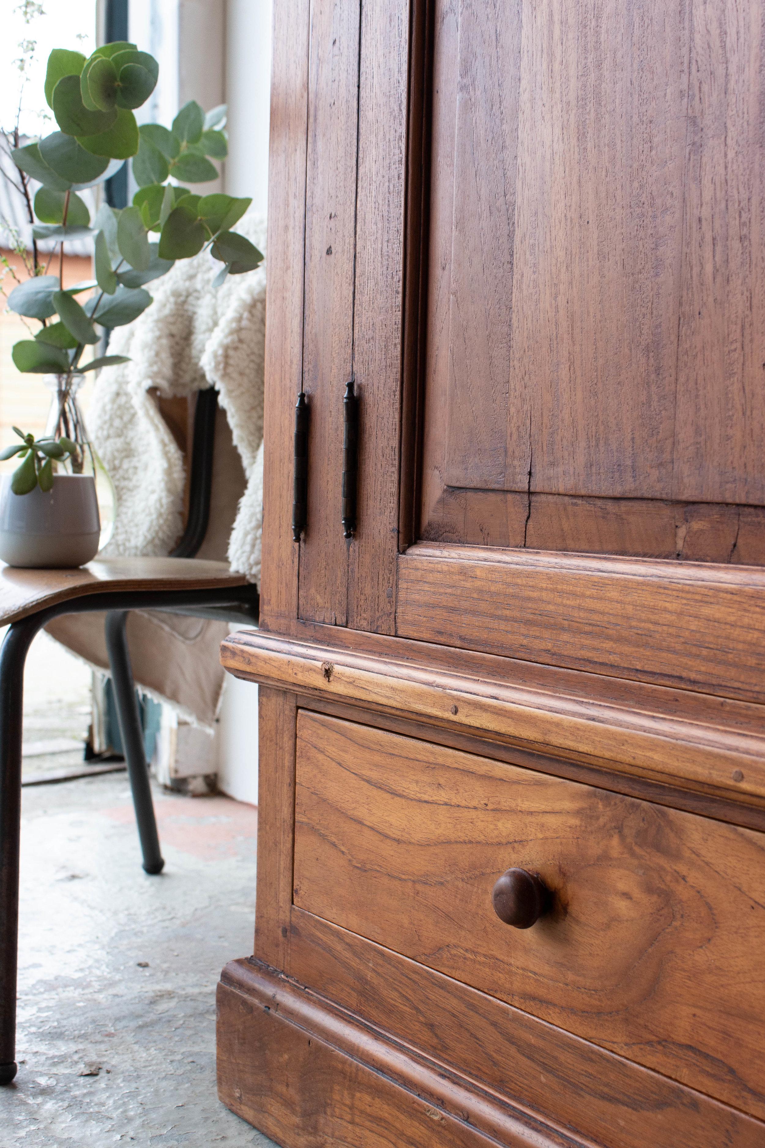 1483 - Vintage meidenkast van hout-6.jpg