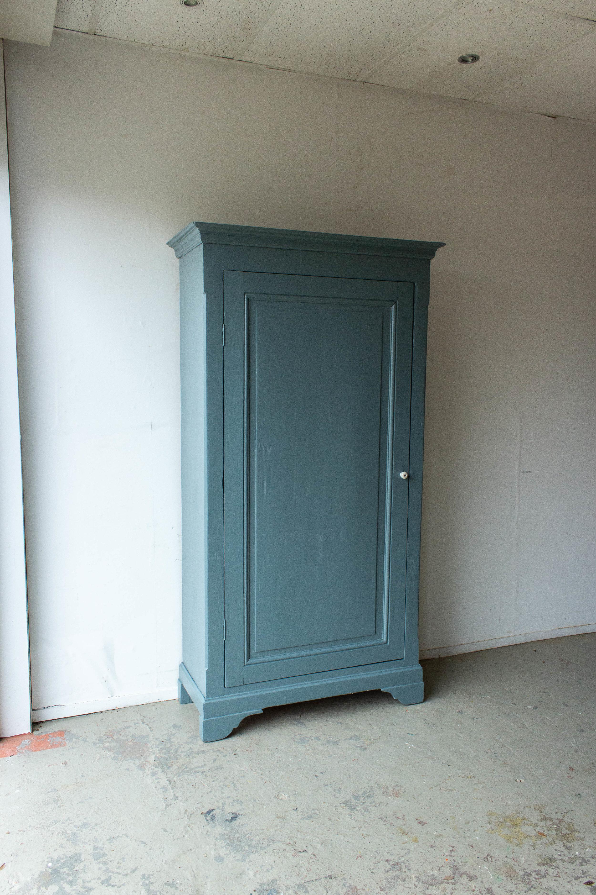 1465 - Grijsblauwe vintage kledingkast-6.jpg
