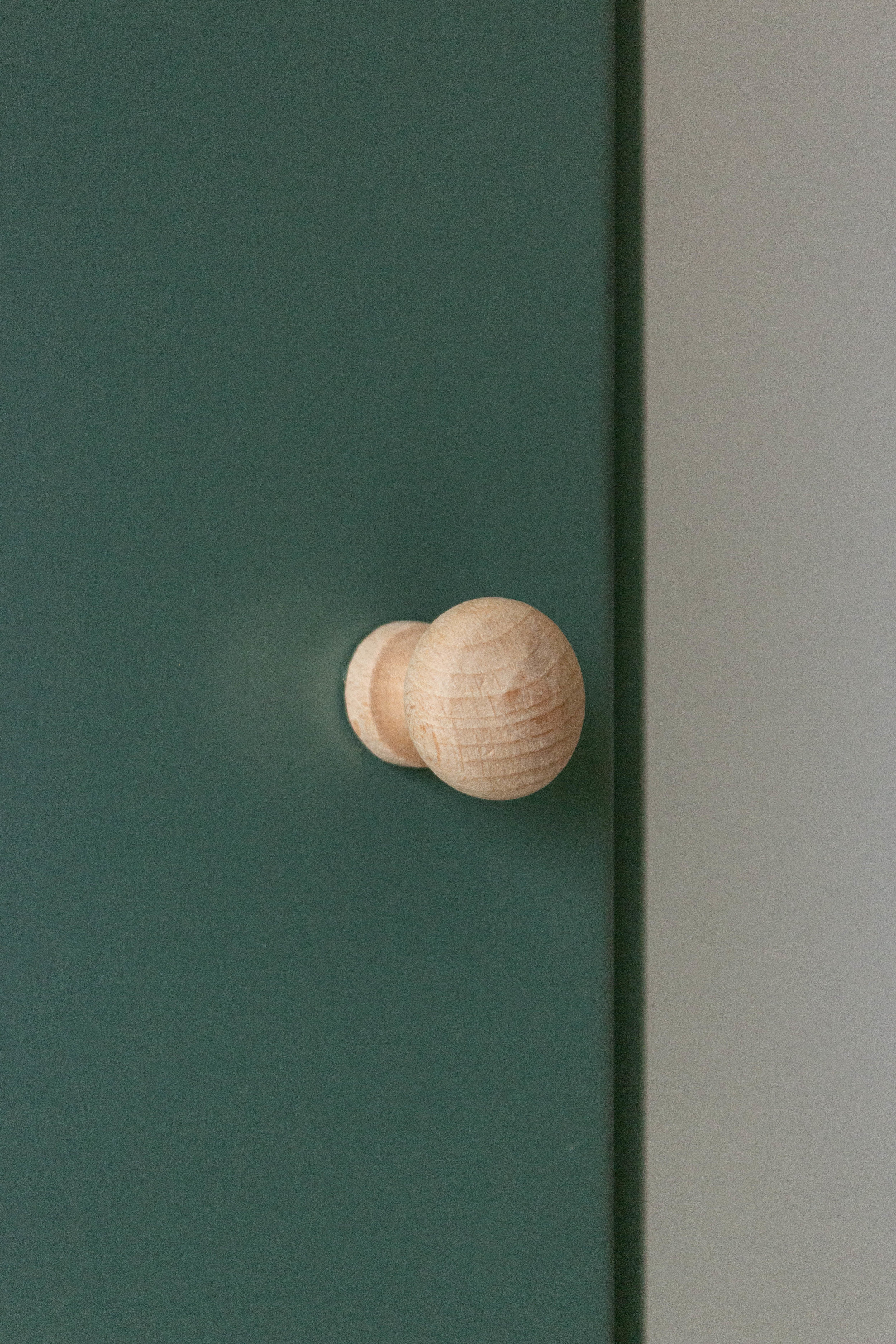 6035 - Dennengroen wadkastje met houten knop-2.jpg