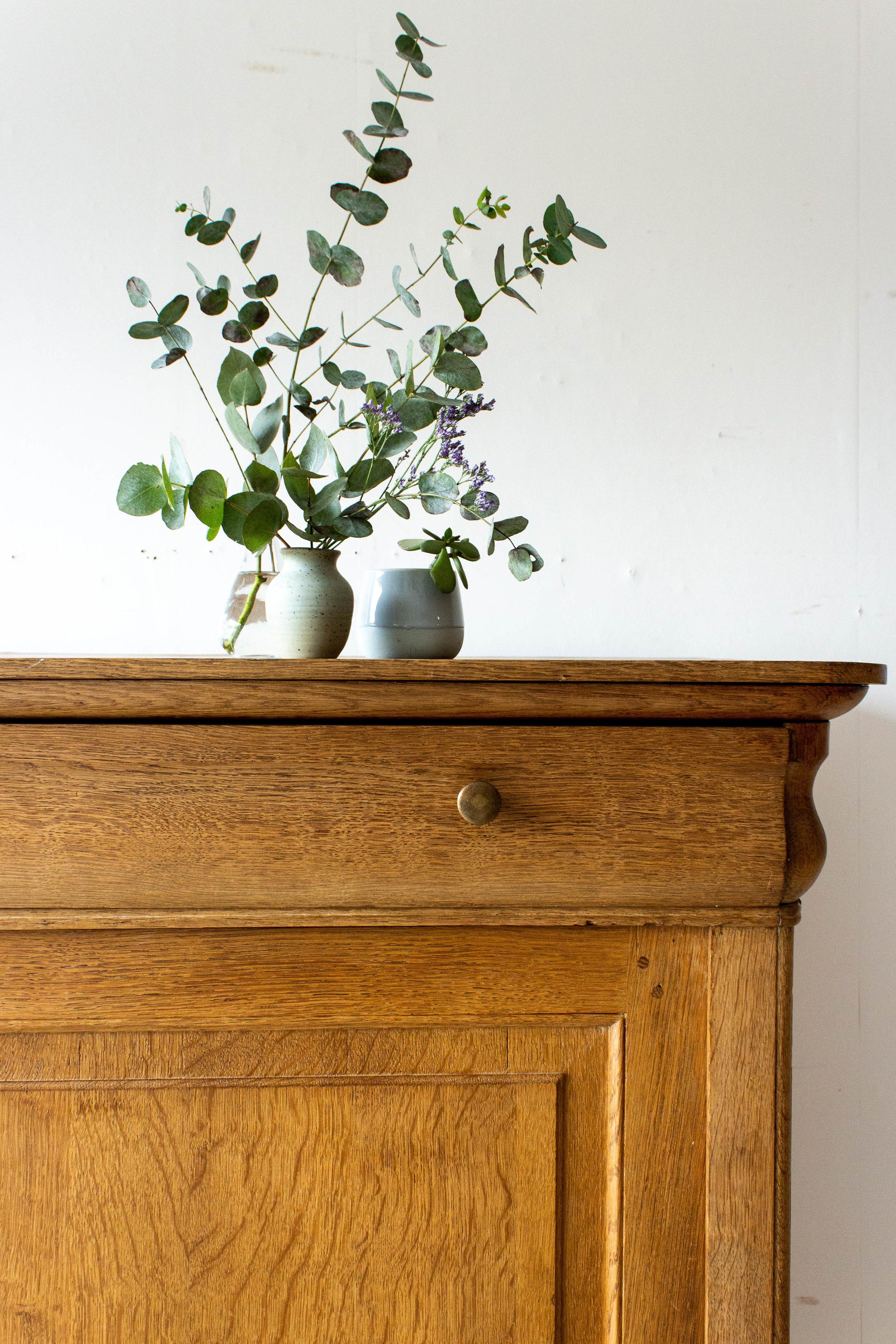 1543 - Eikenhouten vintage meidenkast-2.jpg