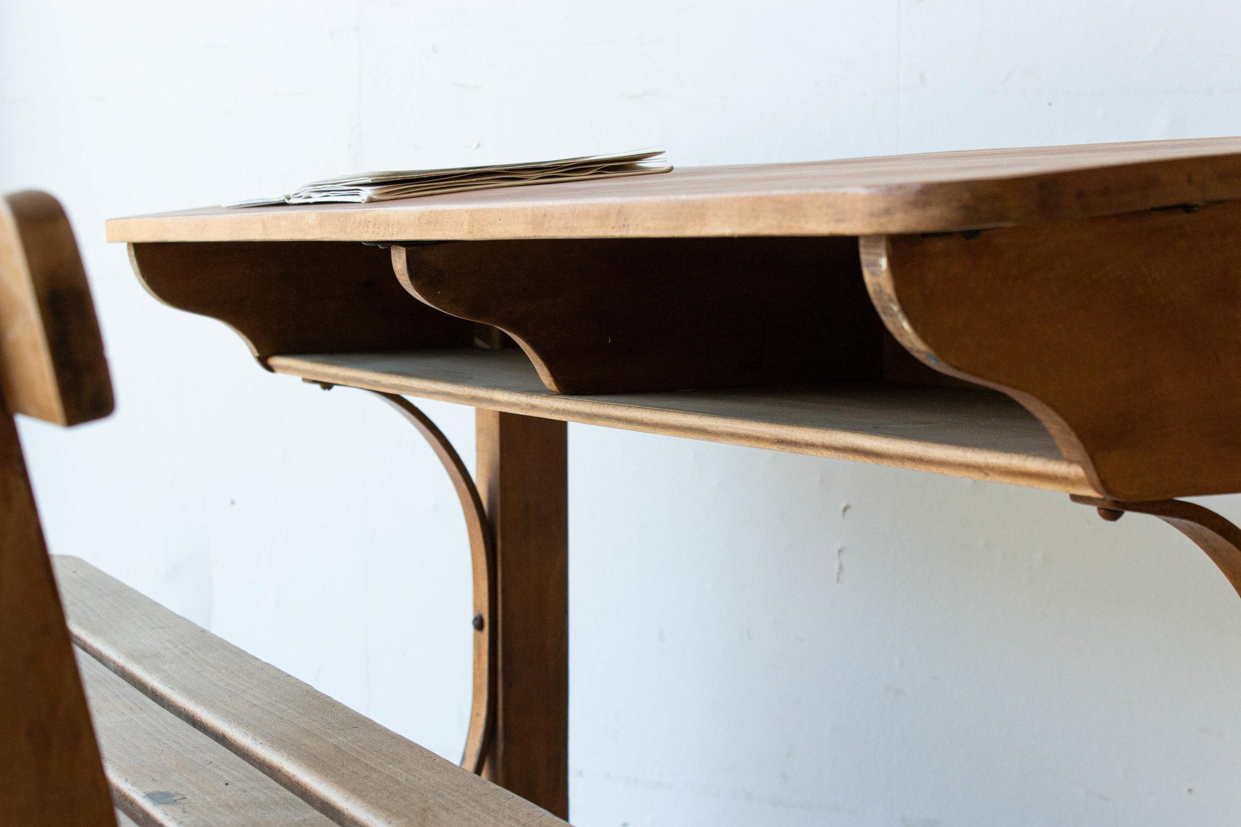 3186 - Vintage houten schoolbank-2.jpg