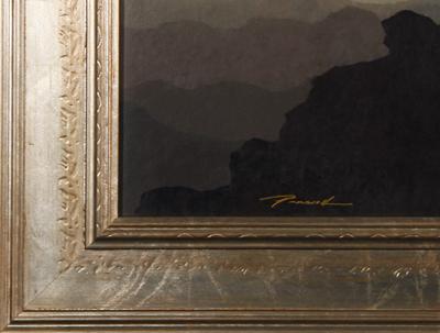 Lower Left Hand Corner Detail
