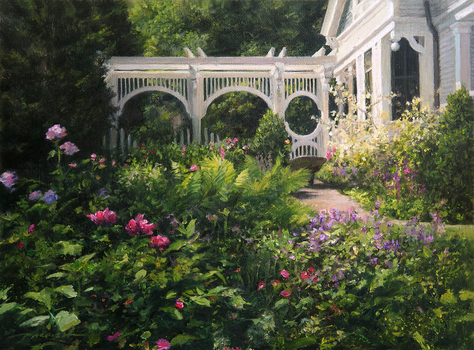 The Gardener's Old Friend By Bradley J. Parrish