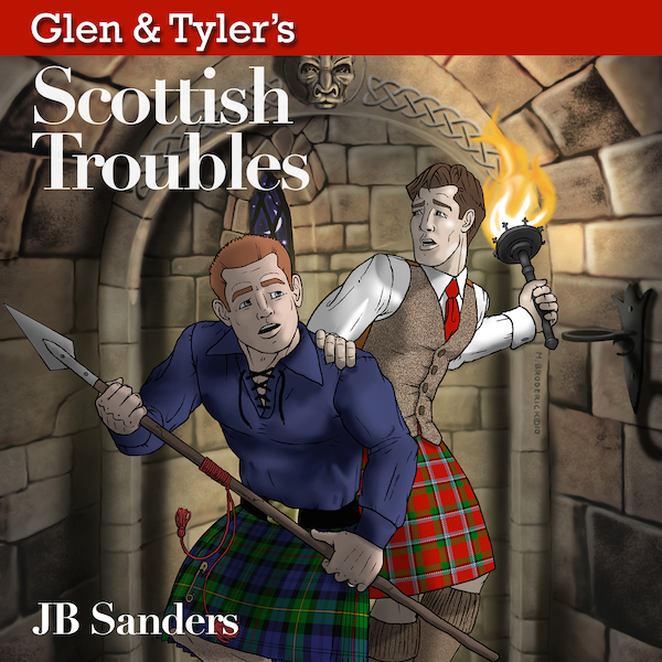 Glen & Tyler's Scottish Troubles is available on Audible.com, Amazon, and Apple's iTunes Store.