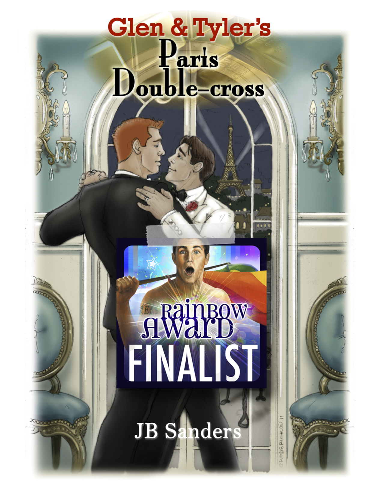 The third book in the series, Glen & Tyler's Paris Double-cross, was a Finalist in the Rainbow Awards for best Gay Mystery/Thriller.