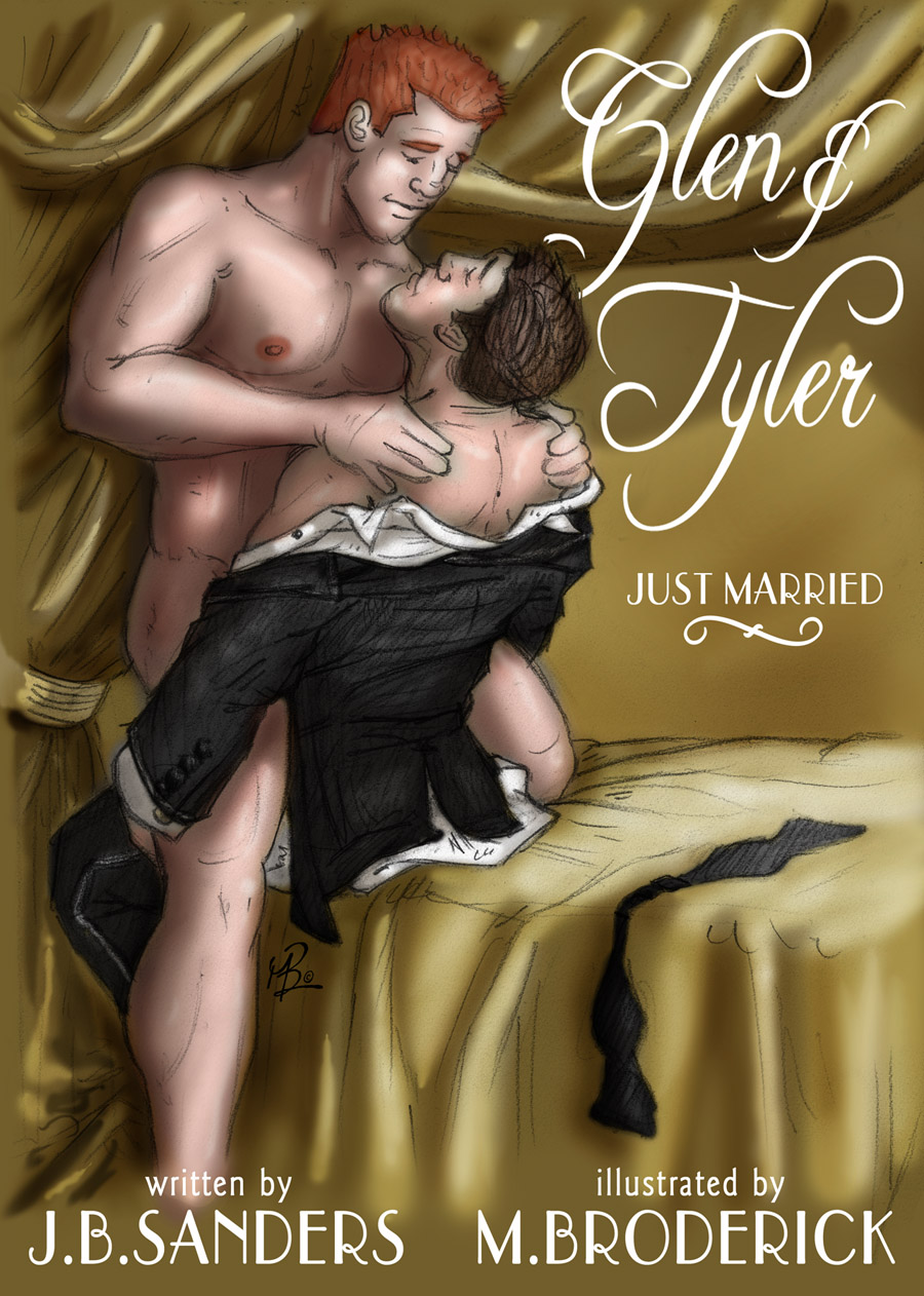 The first Glen & Tyler illustrated erotic story. It's yummy!