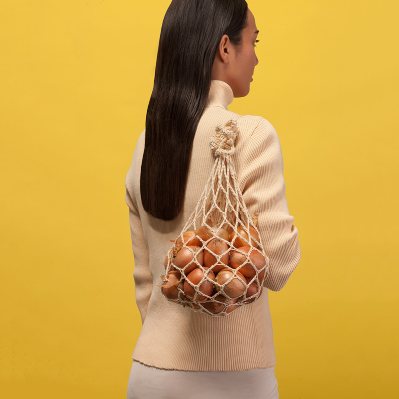 Crocheted Re-Usable Bag