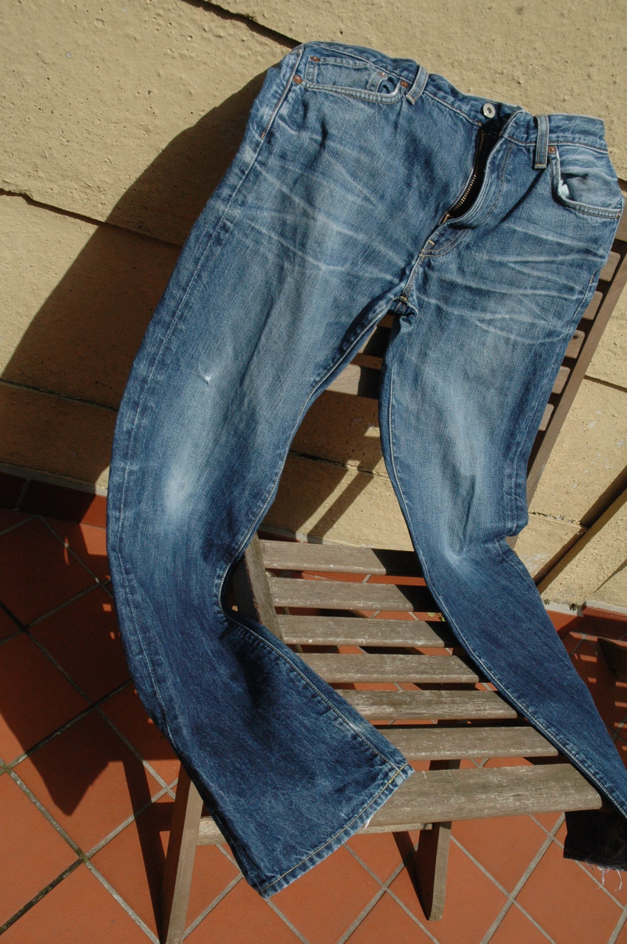 Old pair of jeans