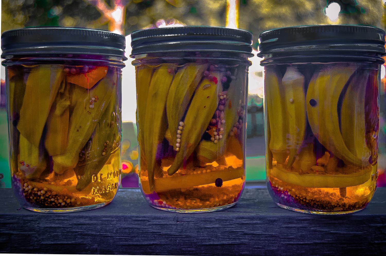 Miss Joy's Mucho Delicioso Okra Pickles