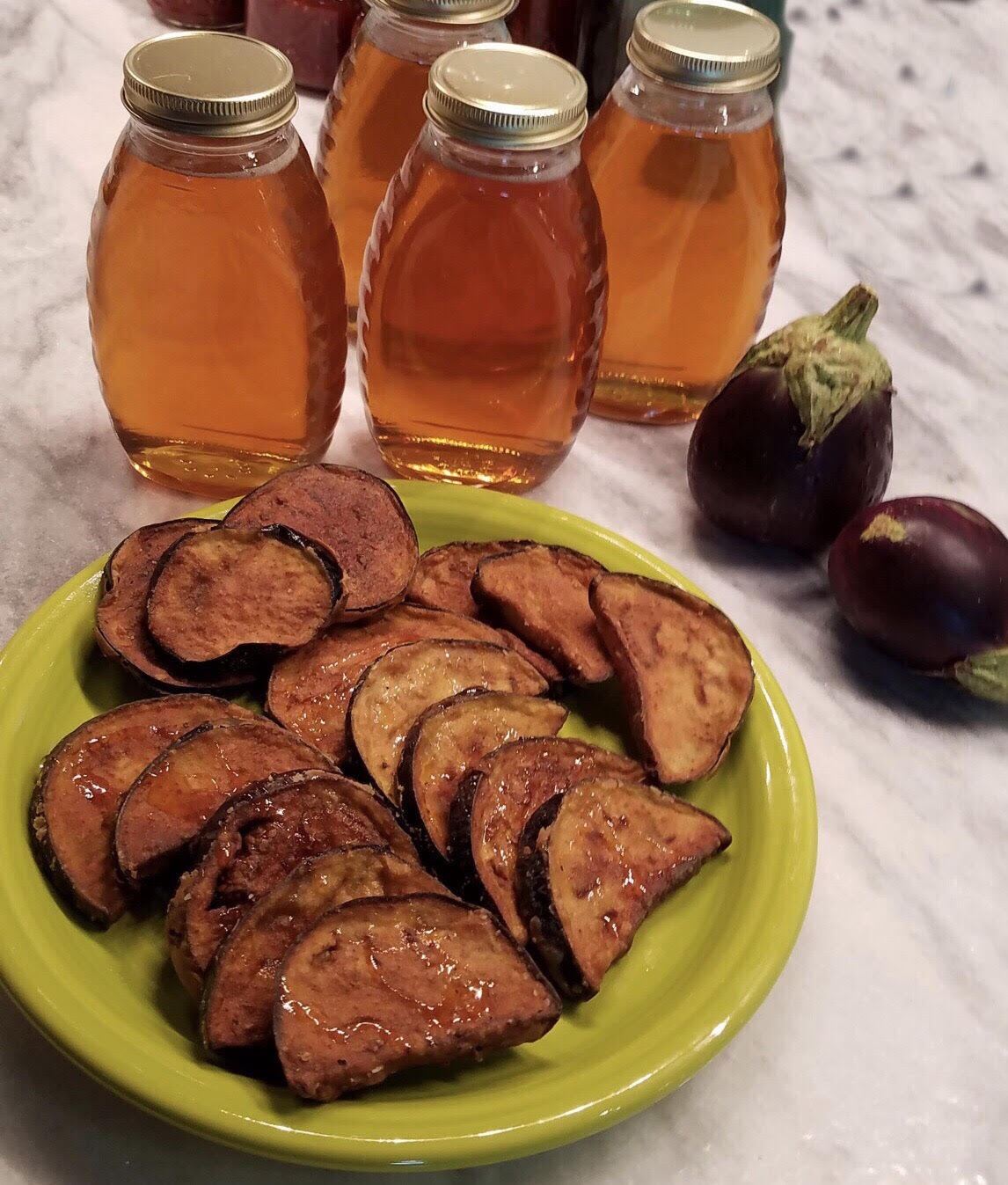 Berenjenas con Miel Eggplants with Honey
