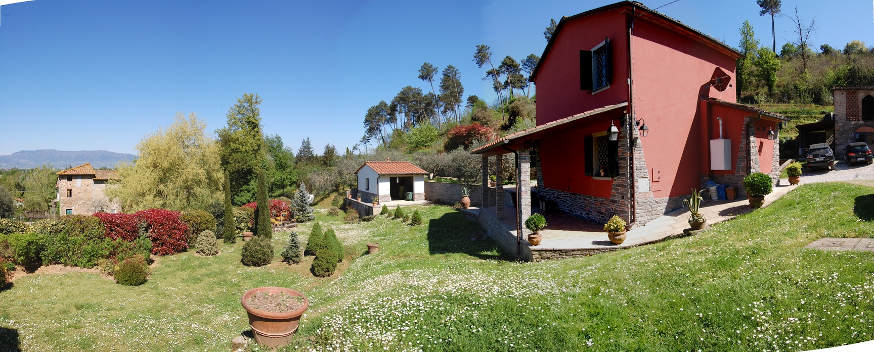 Casa Bella - The smart choice for vacation in the Lucca countryside