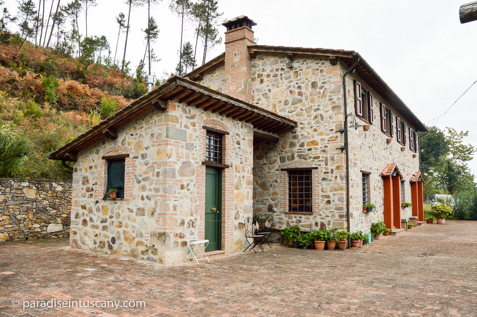 Villa Ruota - Relax in this Tuscan farmhouse with beathtaking vistas