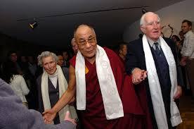 Kathleen Davey, Rev. Ray Davey and His Holiness the Dalai Lama.