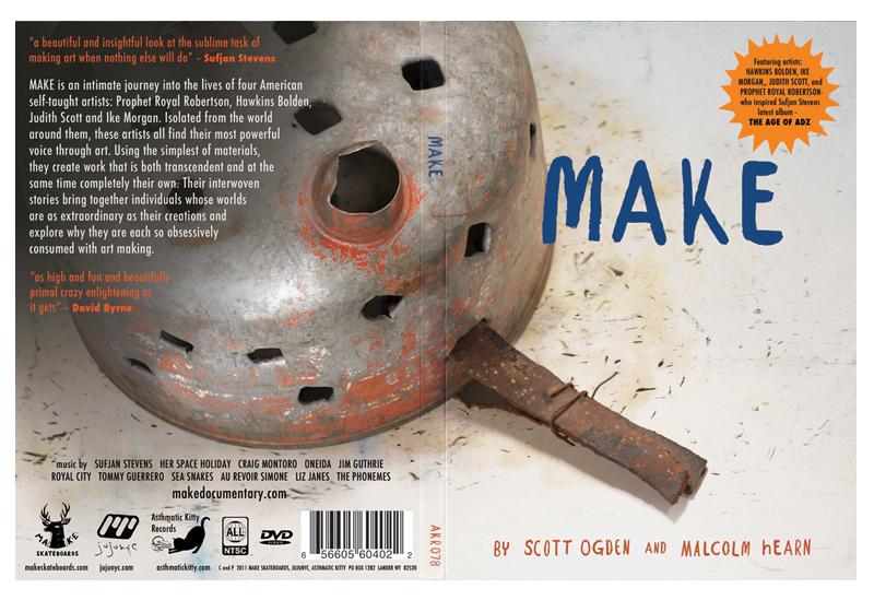 Full cover of MAKE DVD package