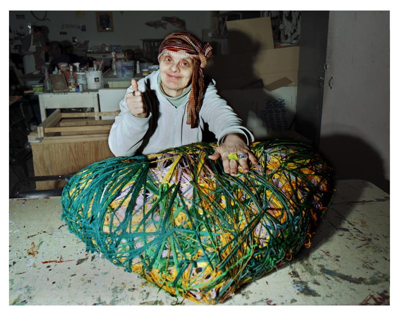 Judith Scott at Creative Growth (Oakland, CA)